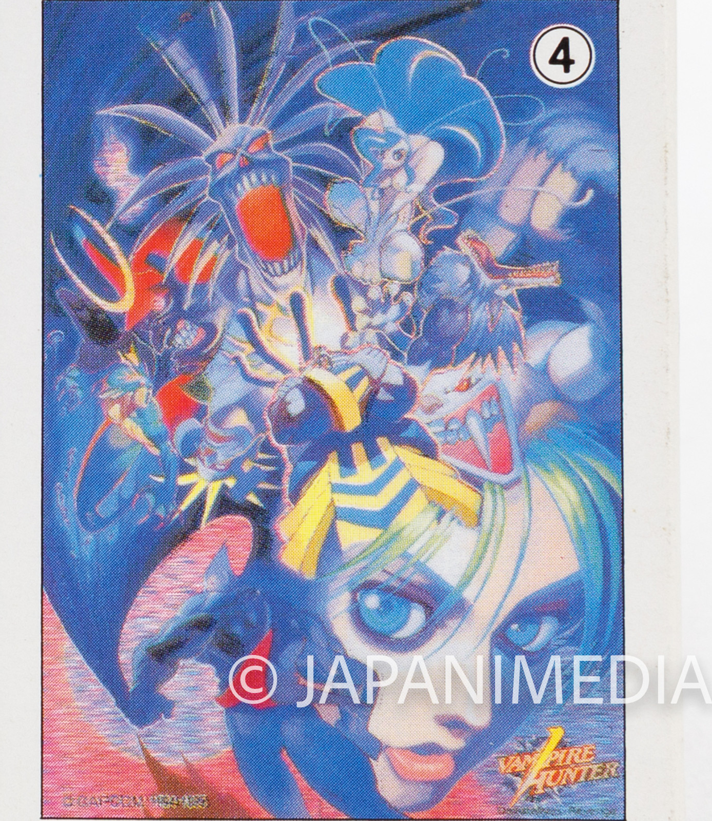 Darkstalkers (Vampire Hunter) Toy Jigsaw Puzzle 54 Pieces #4 JAPAN Capcom