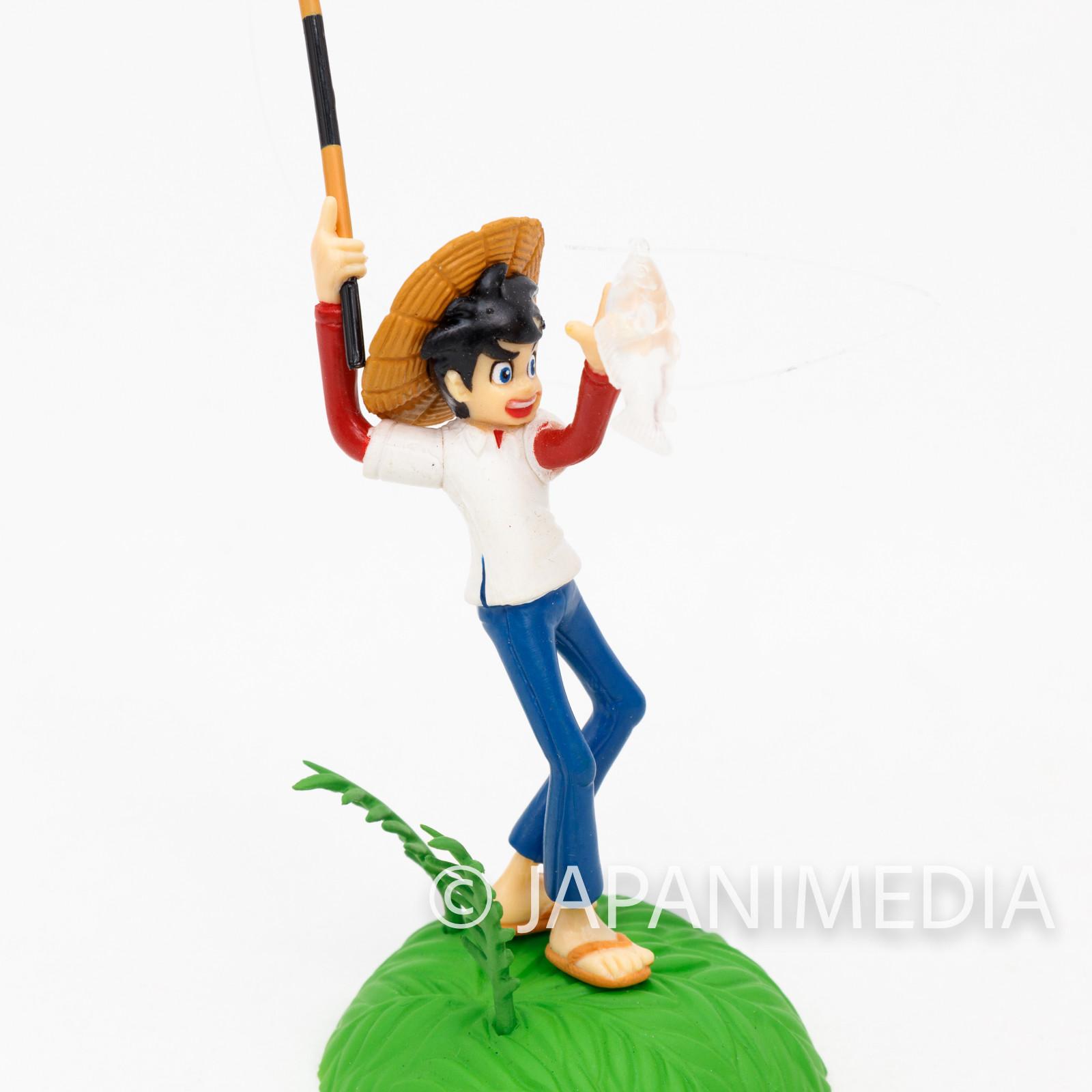 Fishing Crazy Tsurikichi Sanpei Mini Diorama Figure JAPAN ANIME MANGA