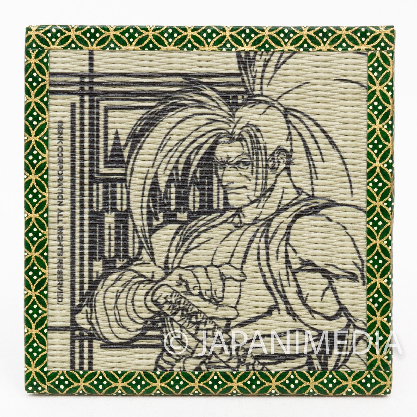Samurai Shodown Haohmaru Tatami Coaster SNK JAPAN NEOGEO SPIRITS