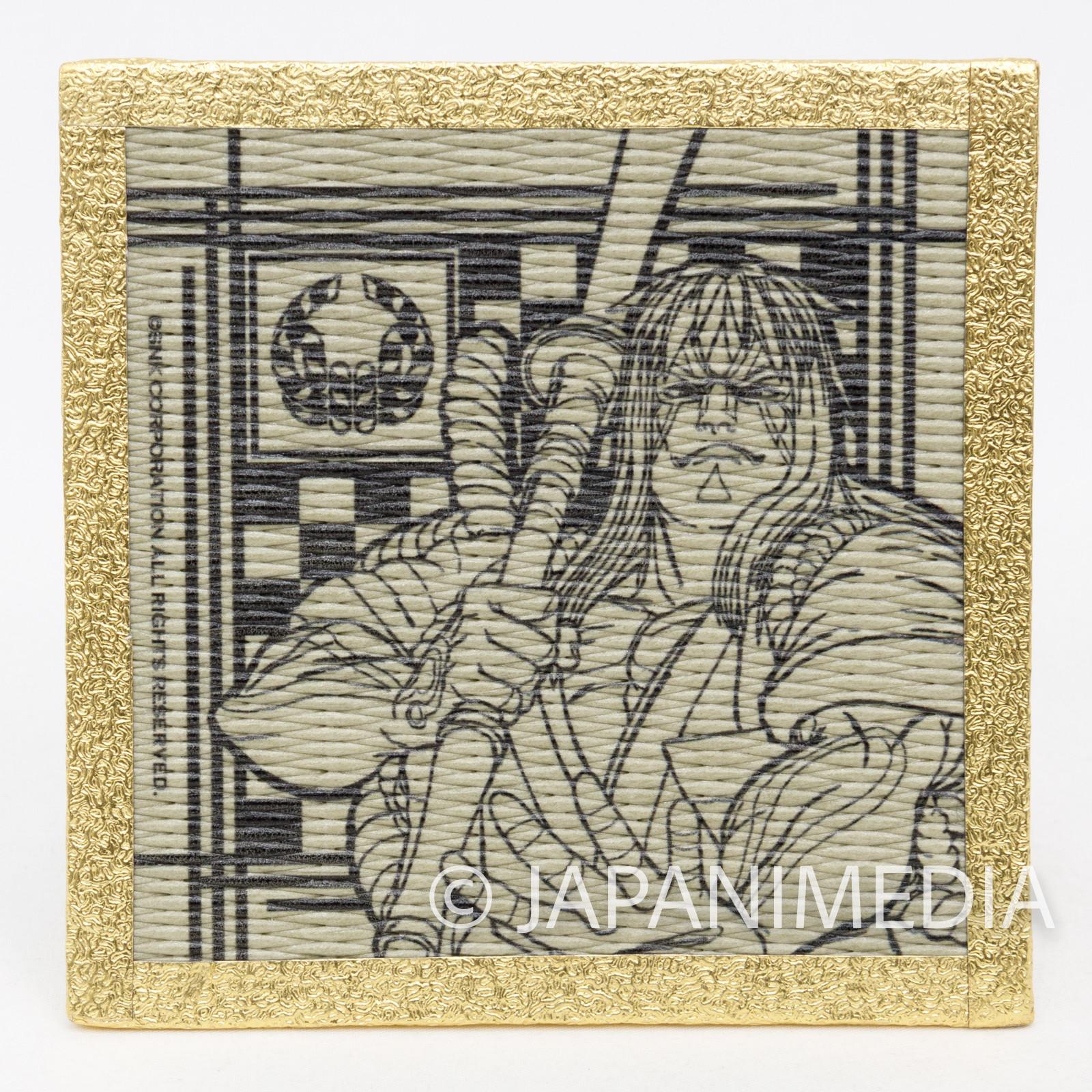 Samurai Shodown Kyoshiro Senryo Tatami Coaster SNK JAPAN NEOGEO SPIRITS
