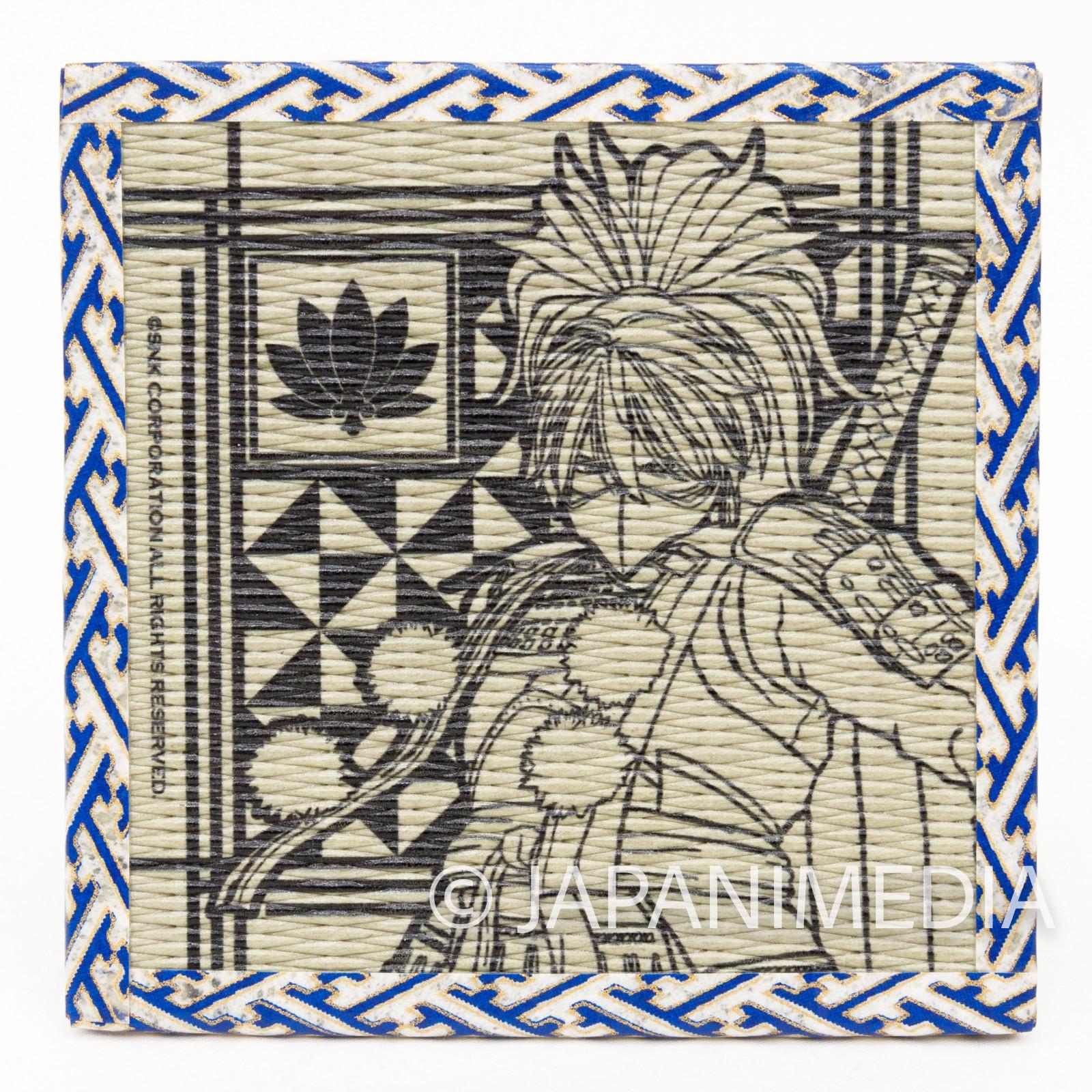 Samurai Shodown Yashamaru Kurama Tatami Coaster SNK JAPAN NEOGEO SPIRITS
