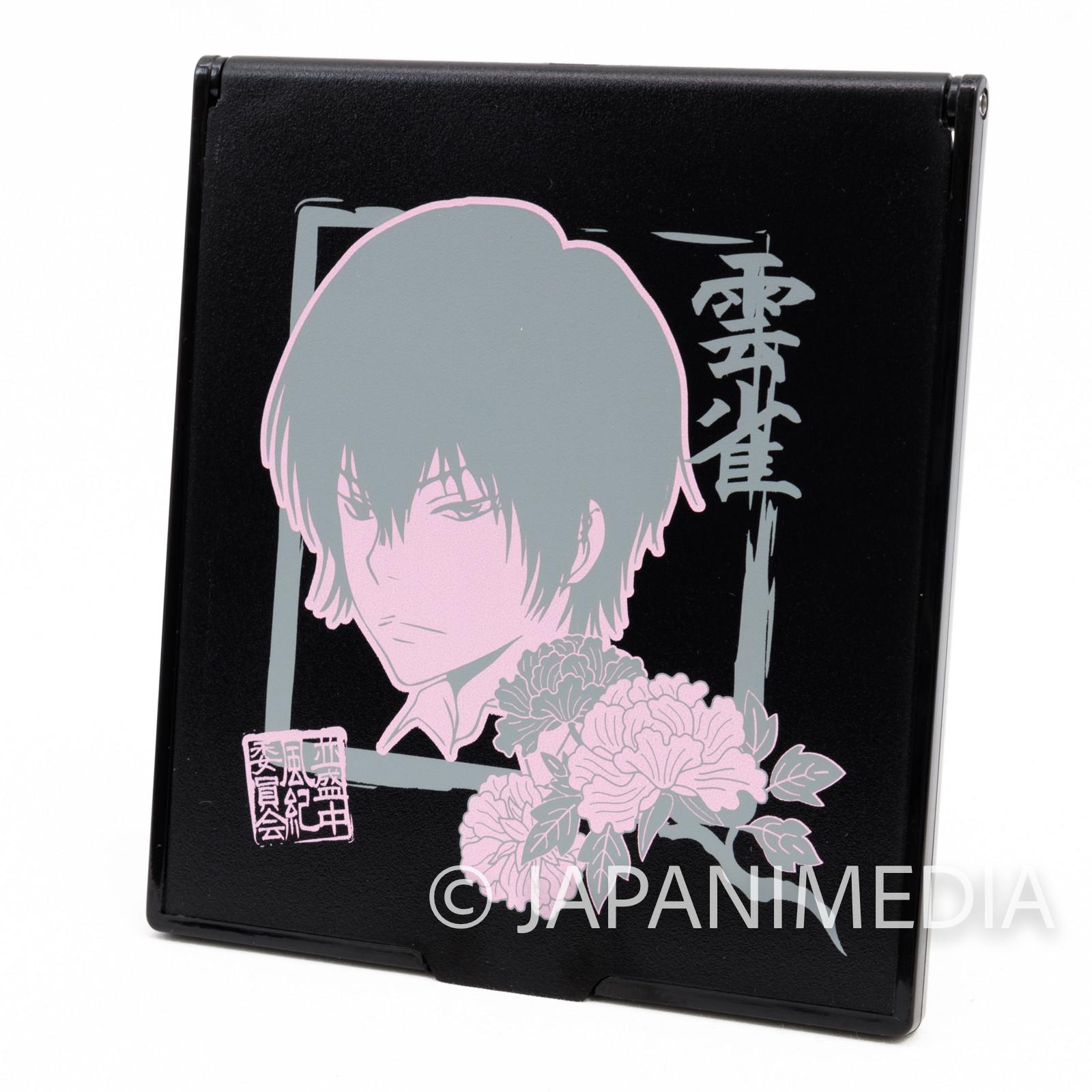 Katekyo Hitman REBORN! Kyoya Hibari Mirror Black JAPAN ANIME WEEKLY JUMP