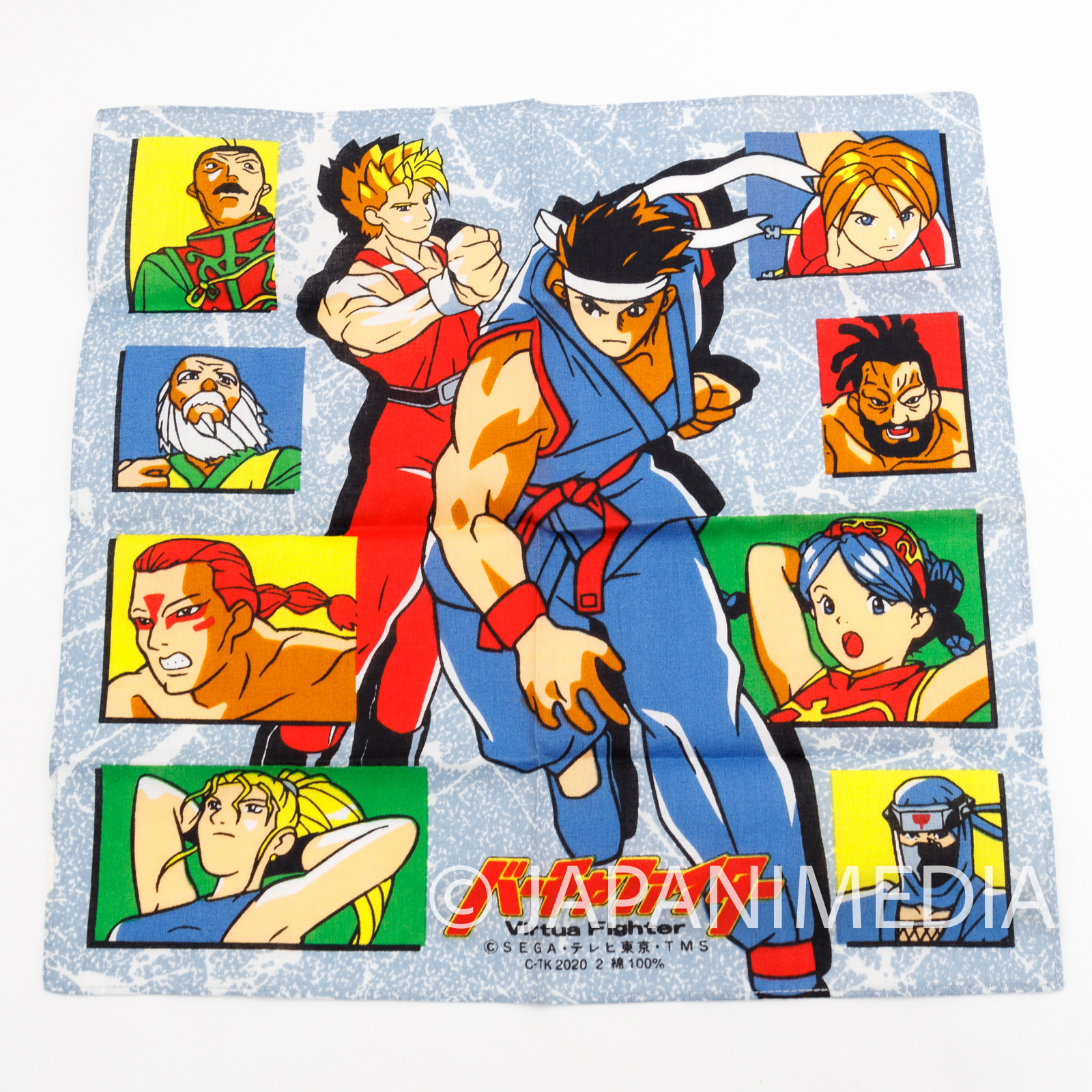 Virtua Fighter Animation Handkerchief SEGA JAPAN GAME