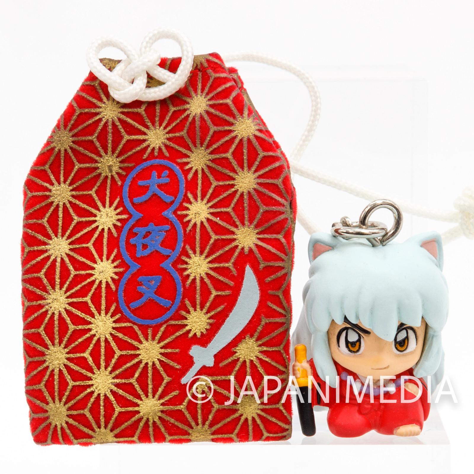 InuYasha Mini Figure & Talisman Omamori JAPAN ANIME RUMIKO TAKAHASHI