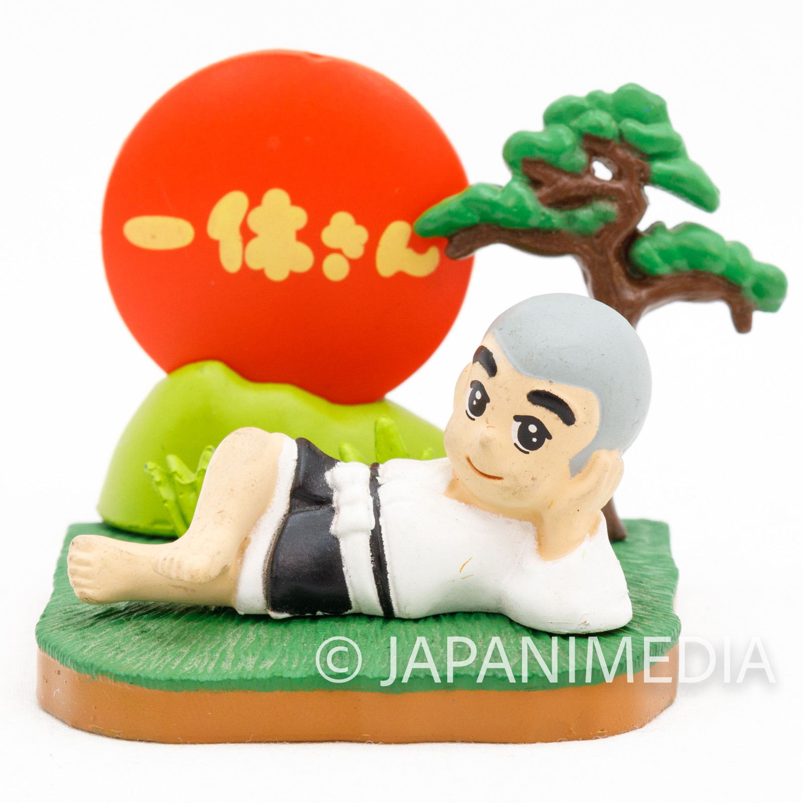 Ikkyu-san Miniature Diorama Figure Taking a break ver. JAPAN ANIME