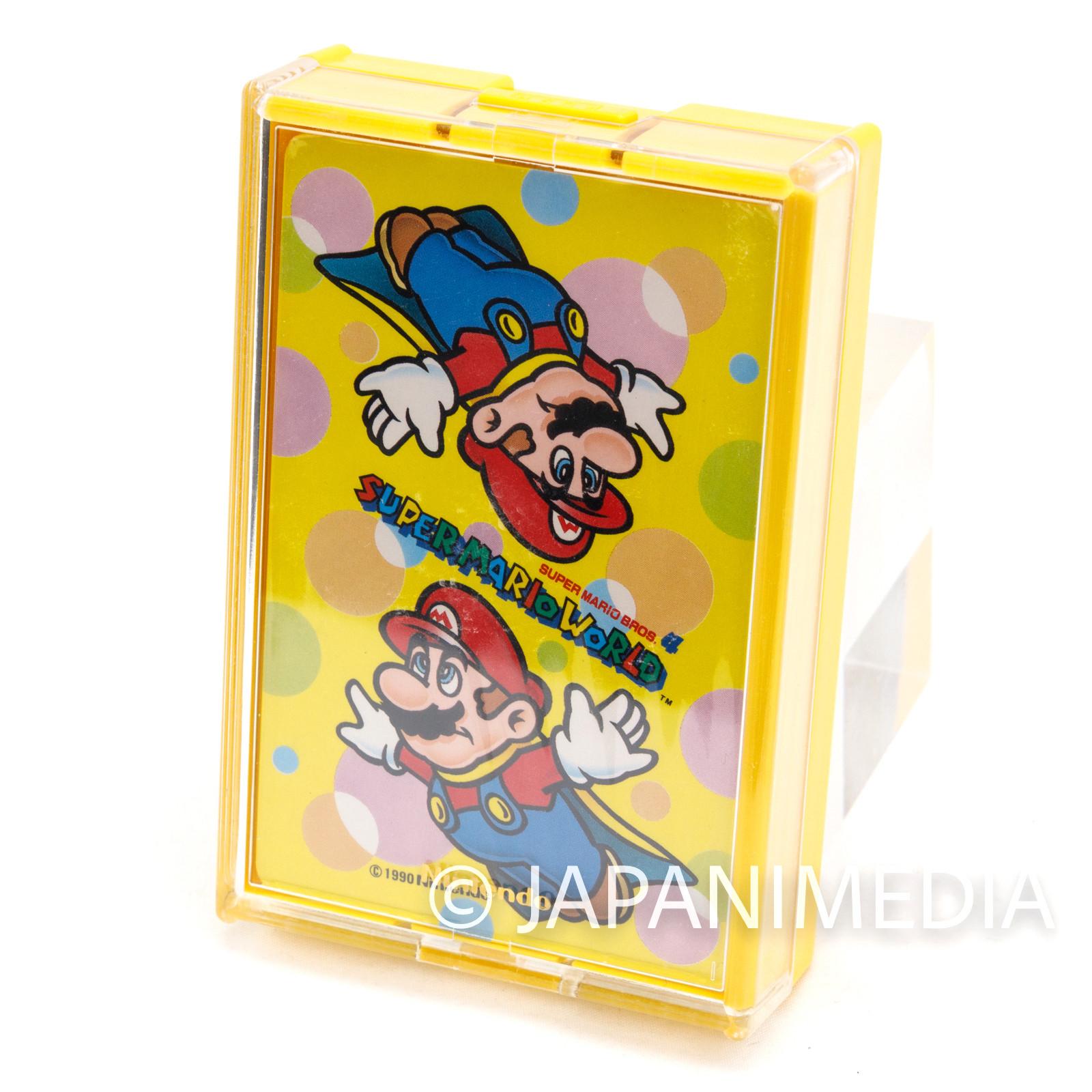 Retro RARE Super Mario World Trump Playing Cards Nintendo JAPAN FAMICOM 1