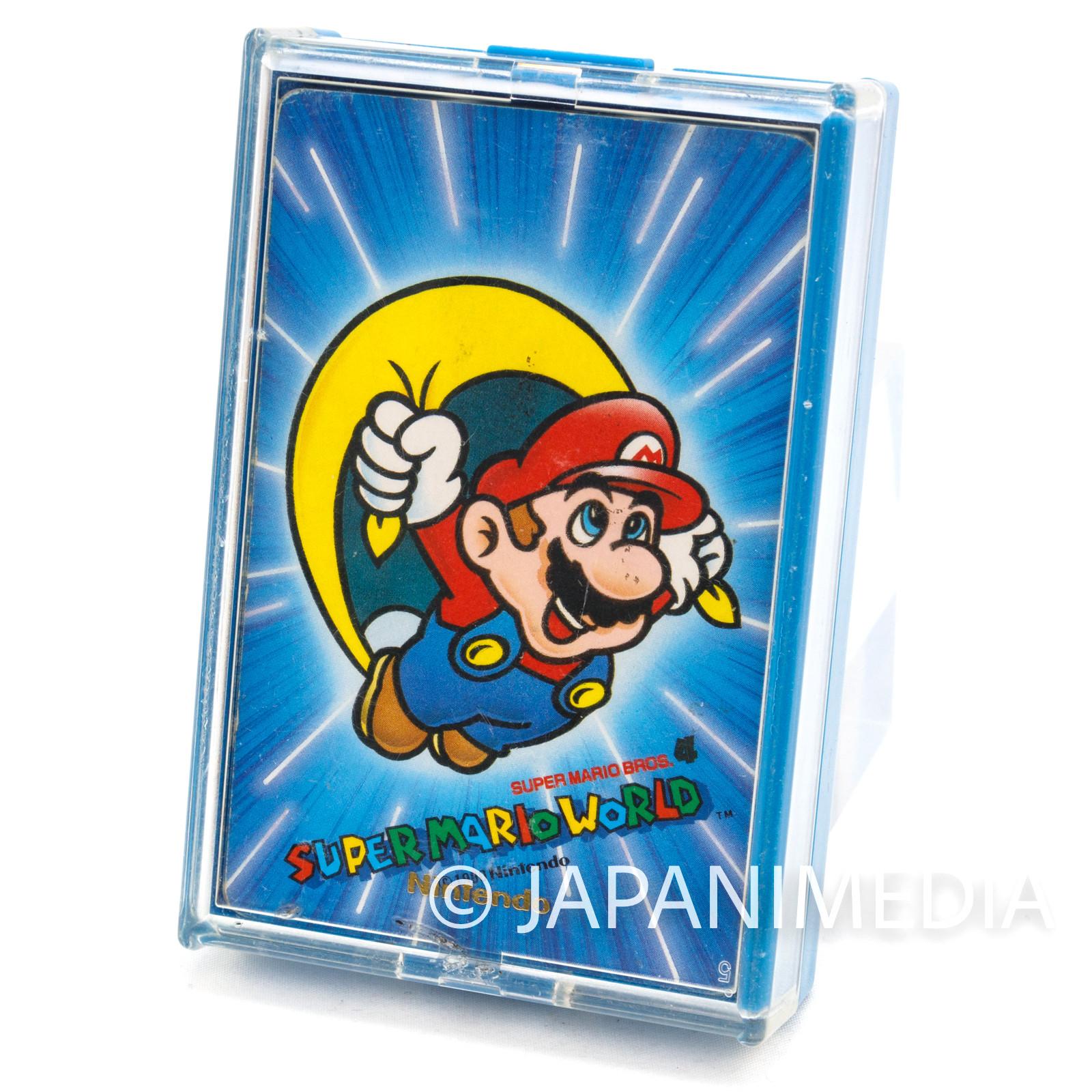 Retro RARE Super Mario World Trump Playing Cards Nintendo JAPAN FAMICOM 2