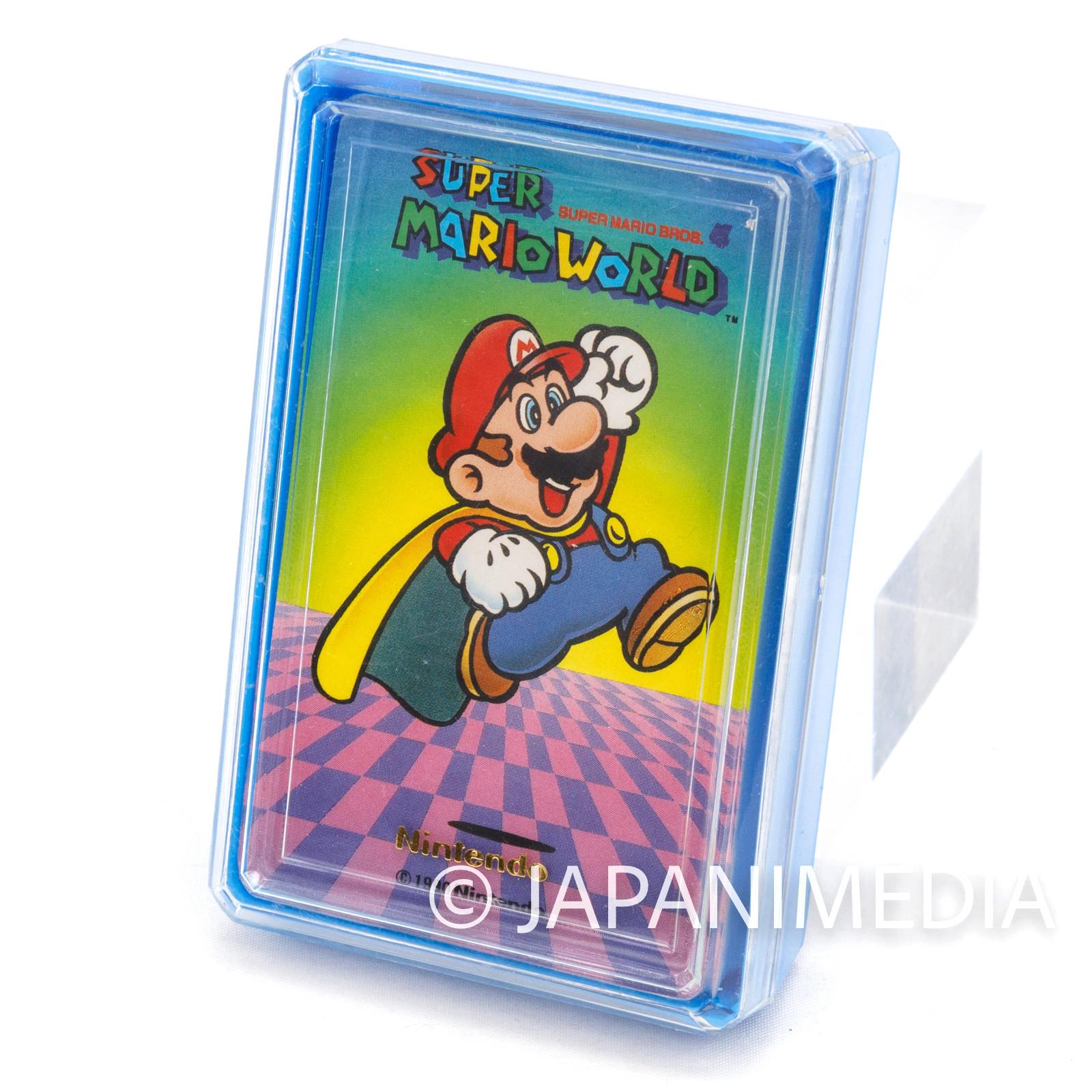 Retro RARE Super Mario World Trump Playing Cards Nintendo JAPAN FAMICOM 3