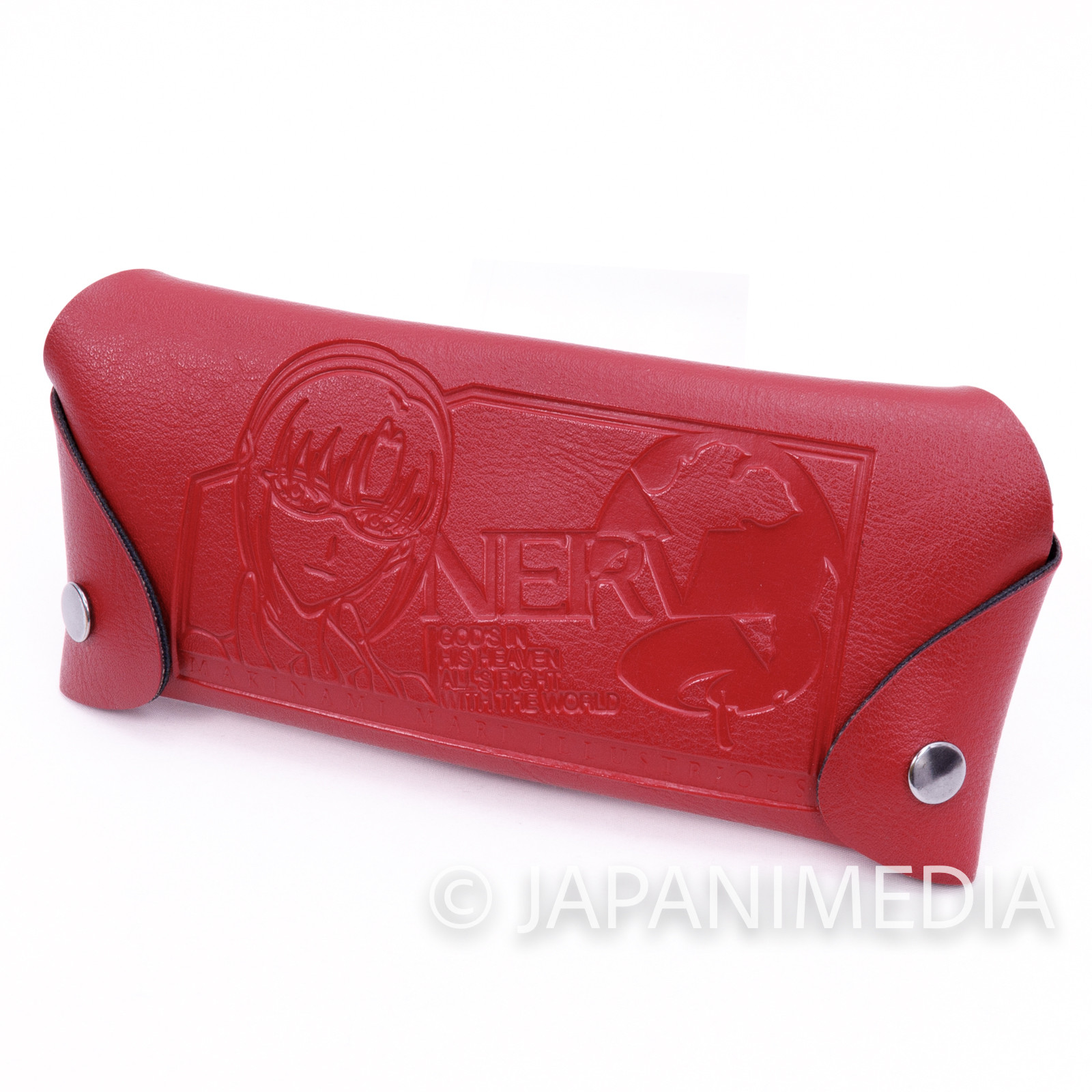 Evangelion Mari Illustrious Synthetic Leather Glasses Case JAPAN ANIME MANGA