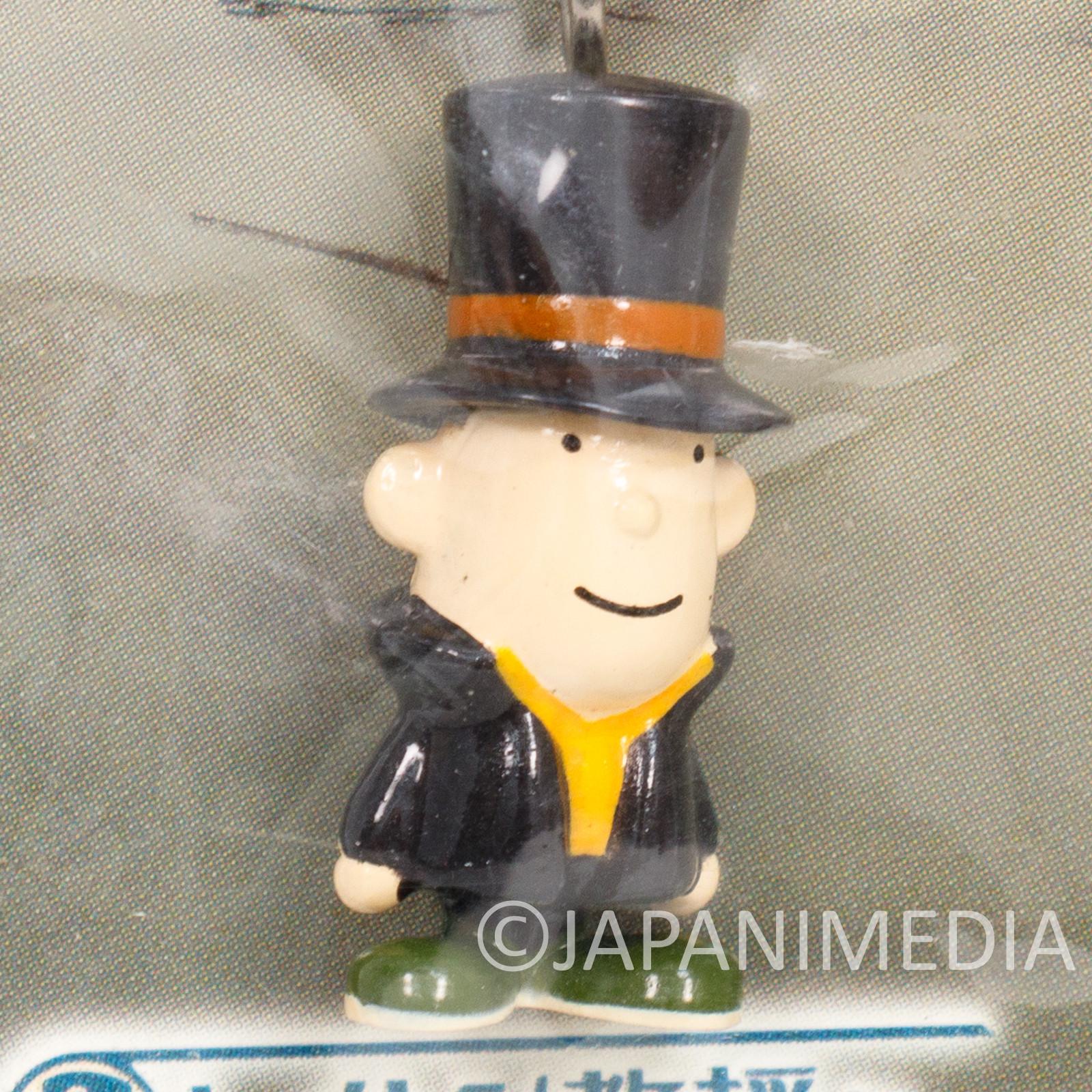 Professor Layton Mini Figure Strap Nintendo DS GAME JAPAN