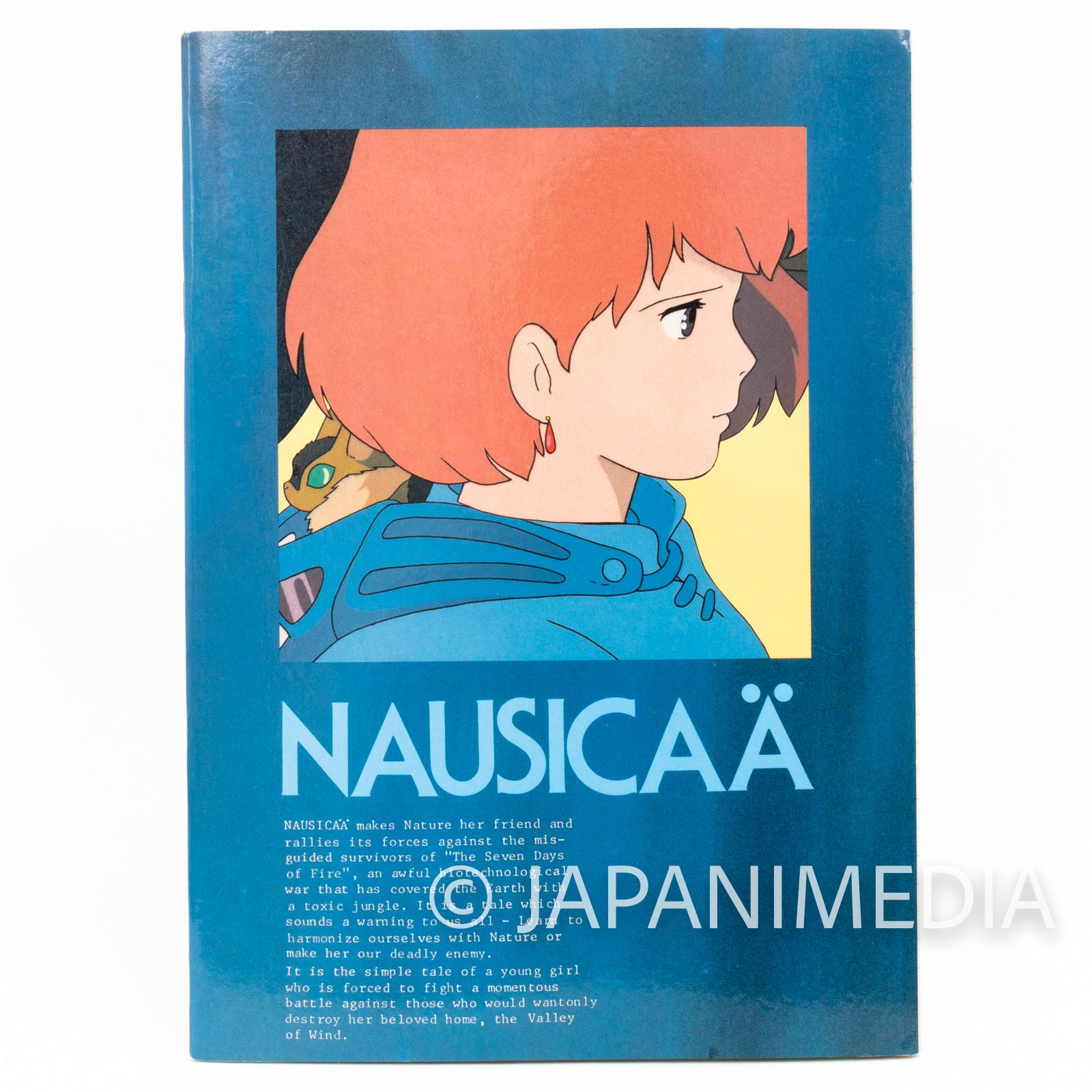 Retro RARE Nausicaa of the Valley Notebook #3 Ghibli JAPAN ANIME MANGA