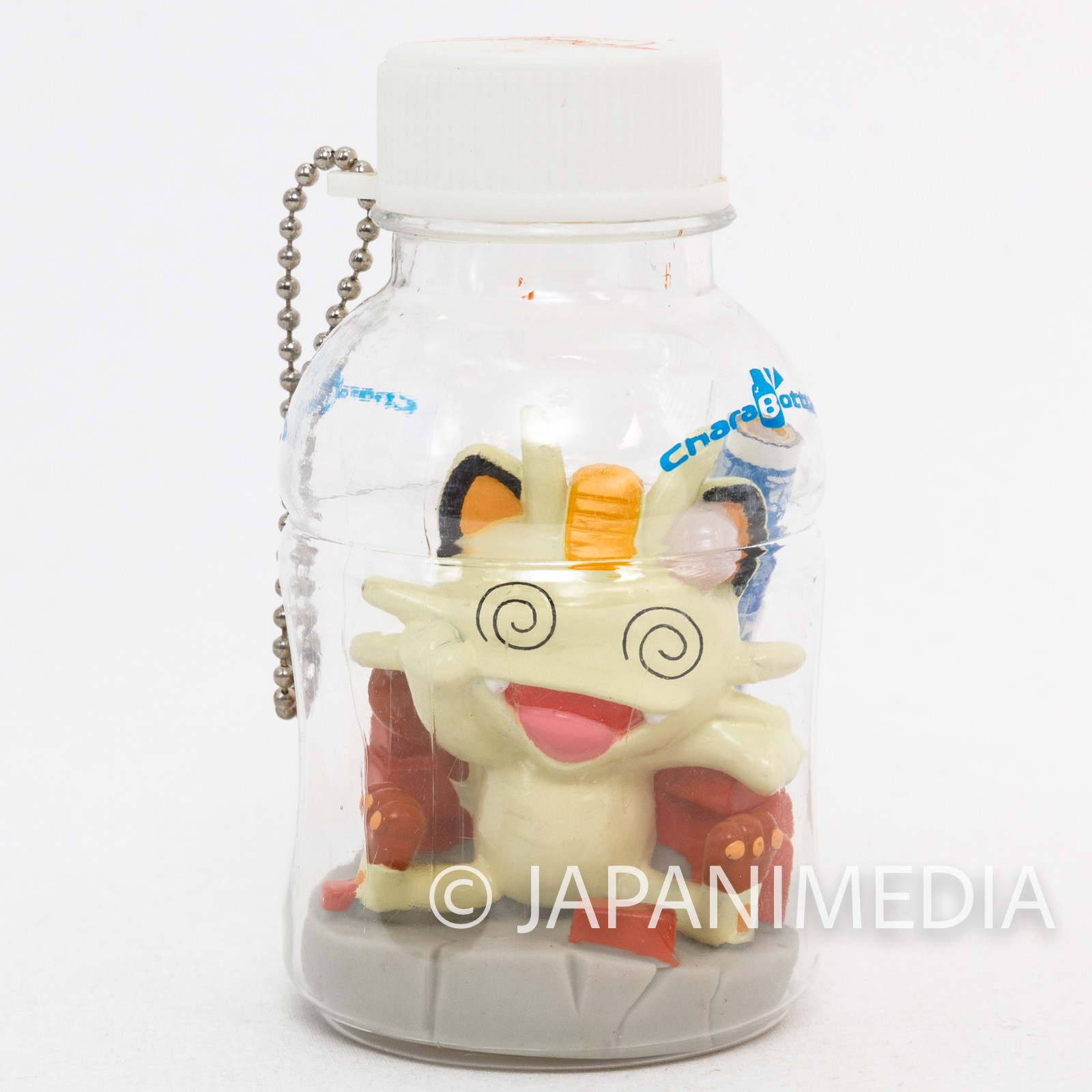 Pokemon Nyarth Figure in Bottle Ballchain JAPAN ANIME GAME