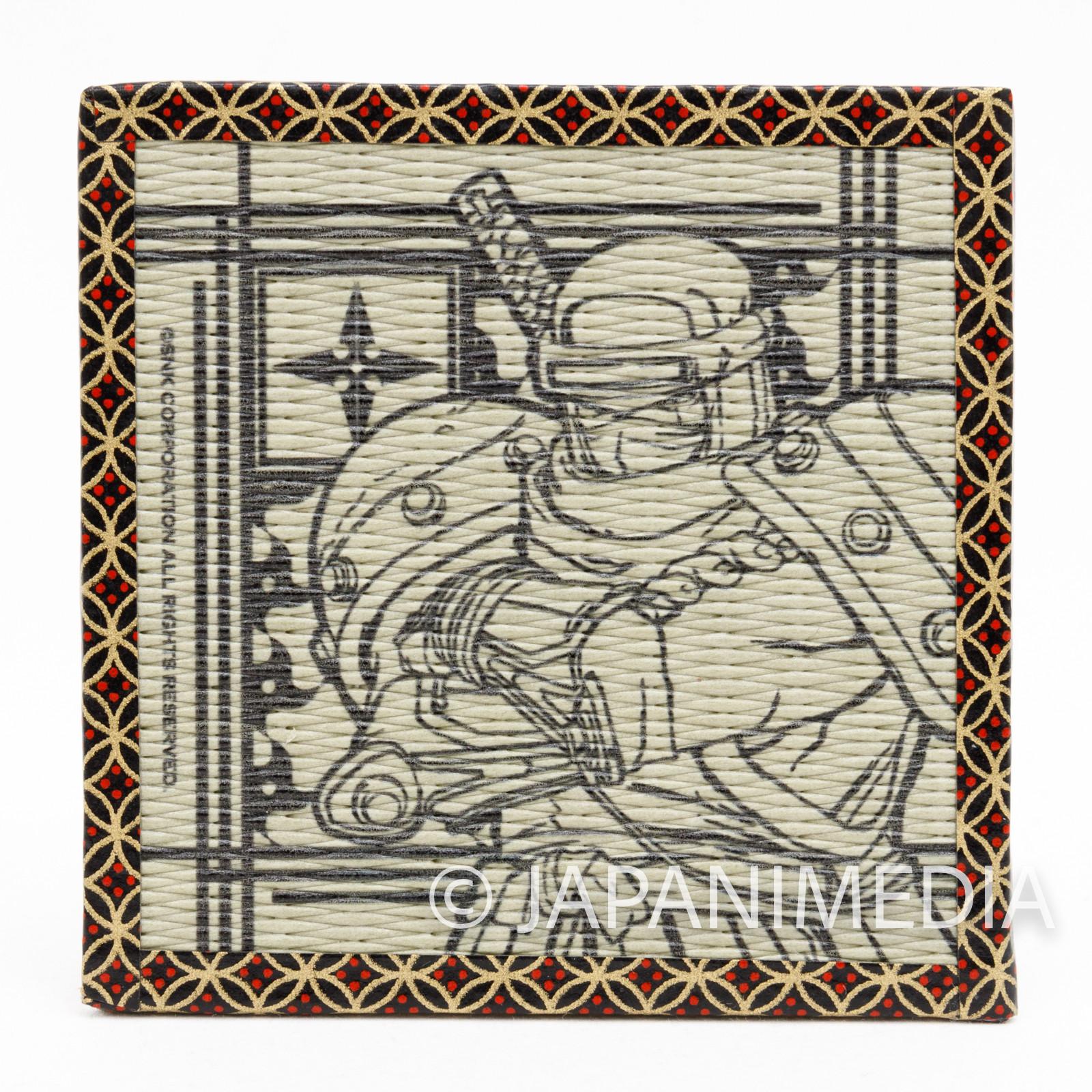Samurai Shodown Hanzo Hattori Tatami Coaster SNK JAPAN NEOGEO SPIRITS