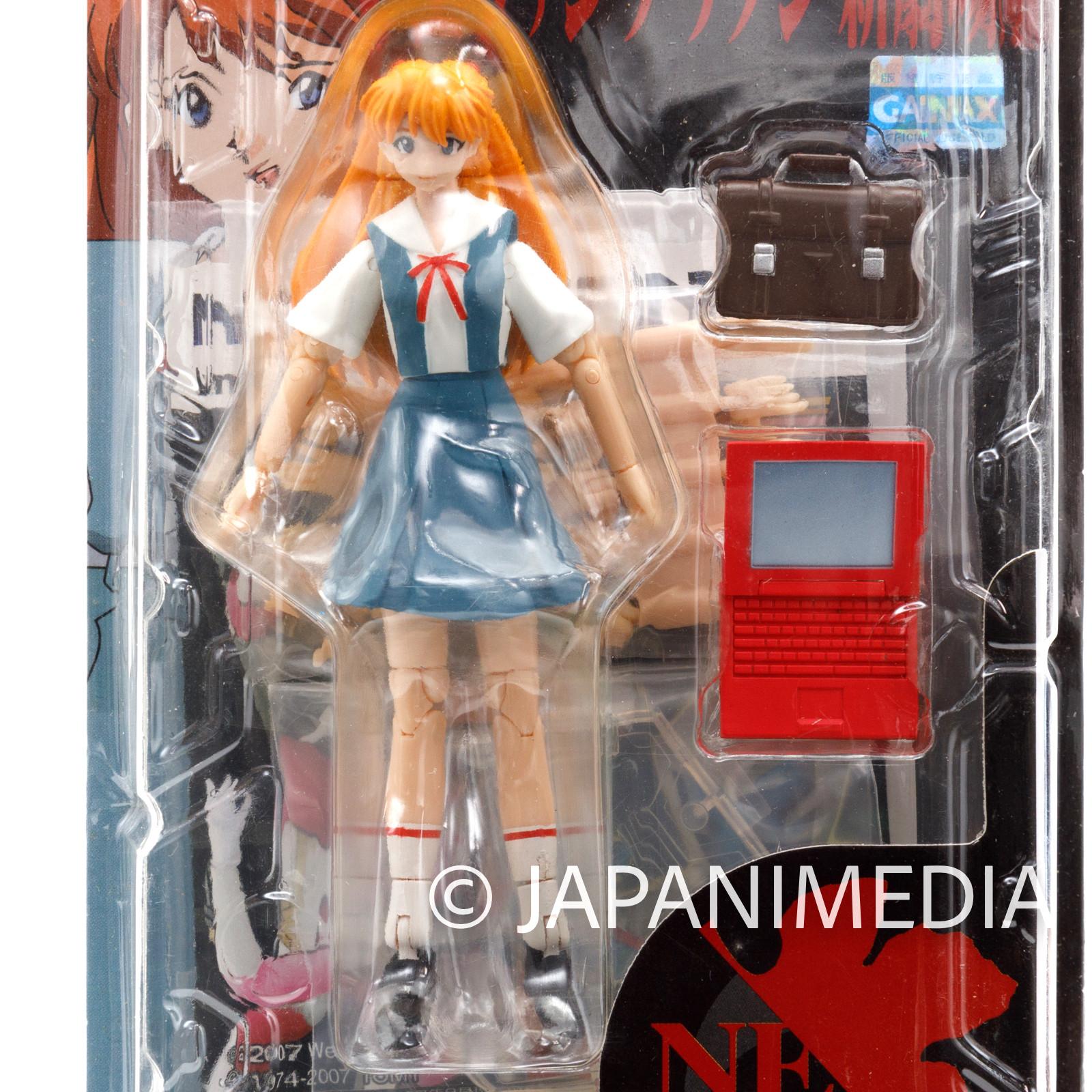 Evangelion Asuka Langley School Uniform Ver. Microman Figure MA-39 TAKARA