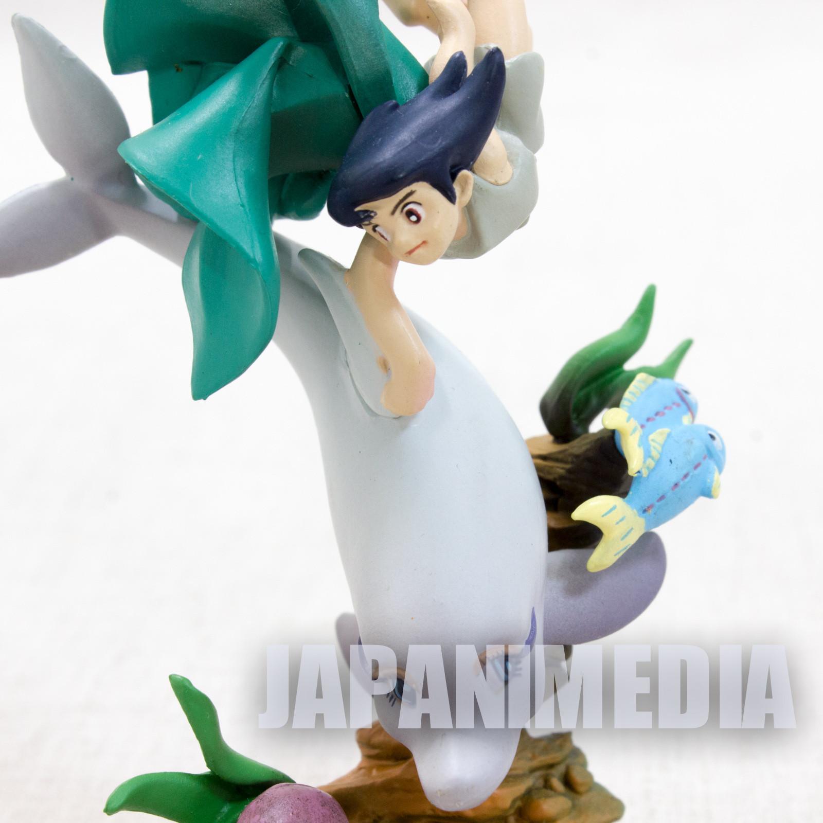 Triton of the sea Tezuka Osamu Mini Vignette Diorama Figure JAPAN ANIME MANGA