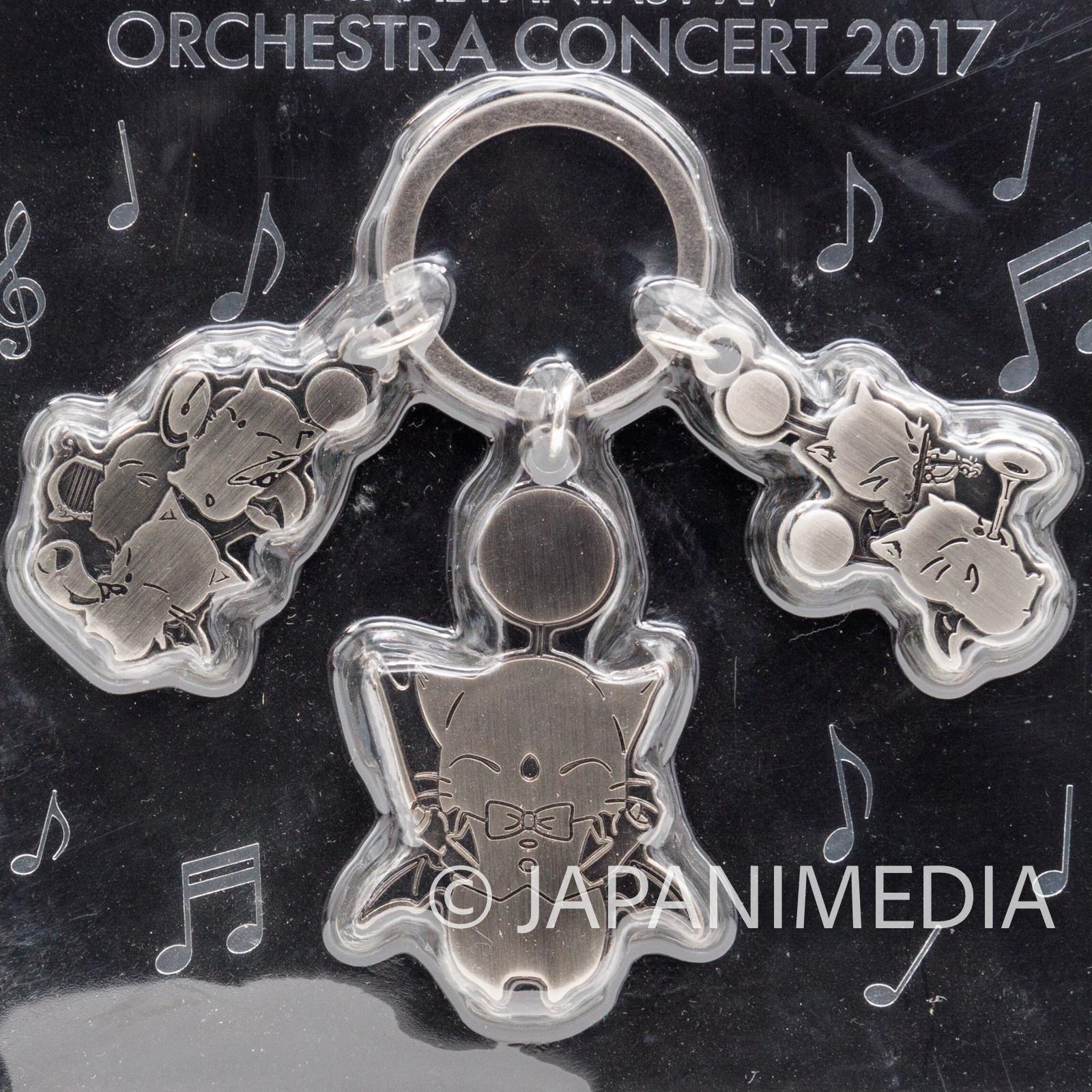 FINAL FANTASY XIV 14 Moogle Metal Charm Orchestra Concert 2017 SQUARE ENIX