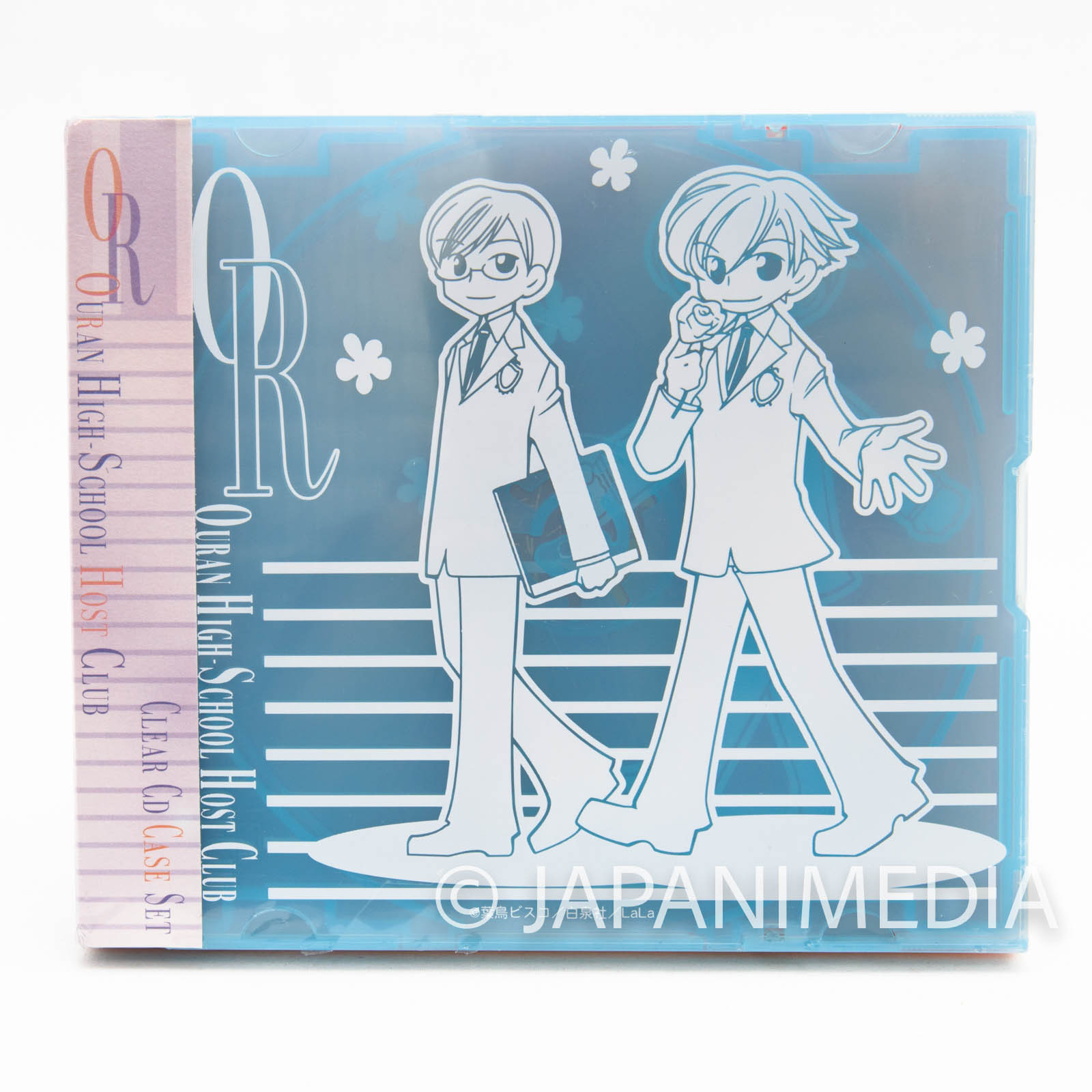 Ouran High School Host Club Clear CD case 4pc set JAPAN MANGA