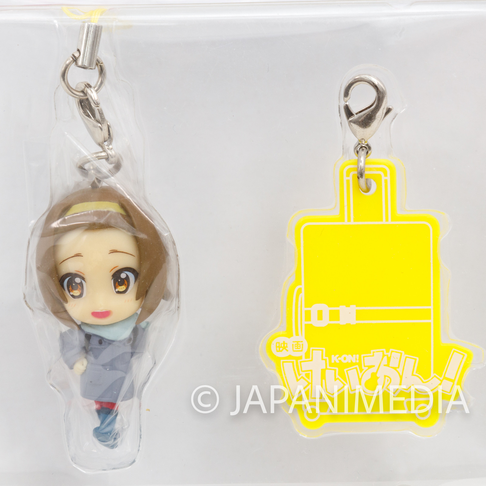 K-ON! Ritsu Tainaka Figure Strap Banpresto JAPAN KYOTO ANIMATION