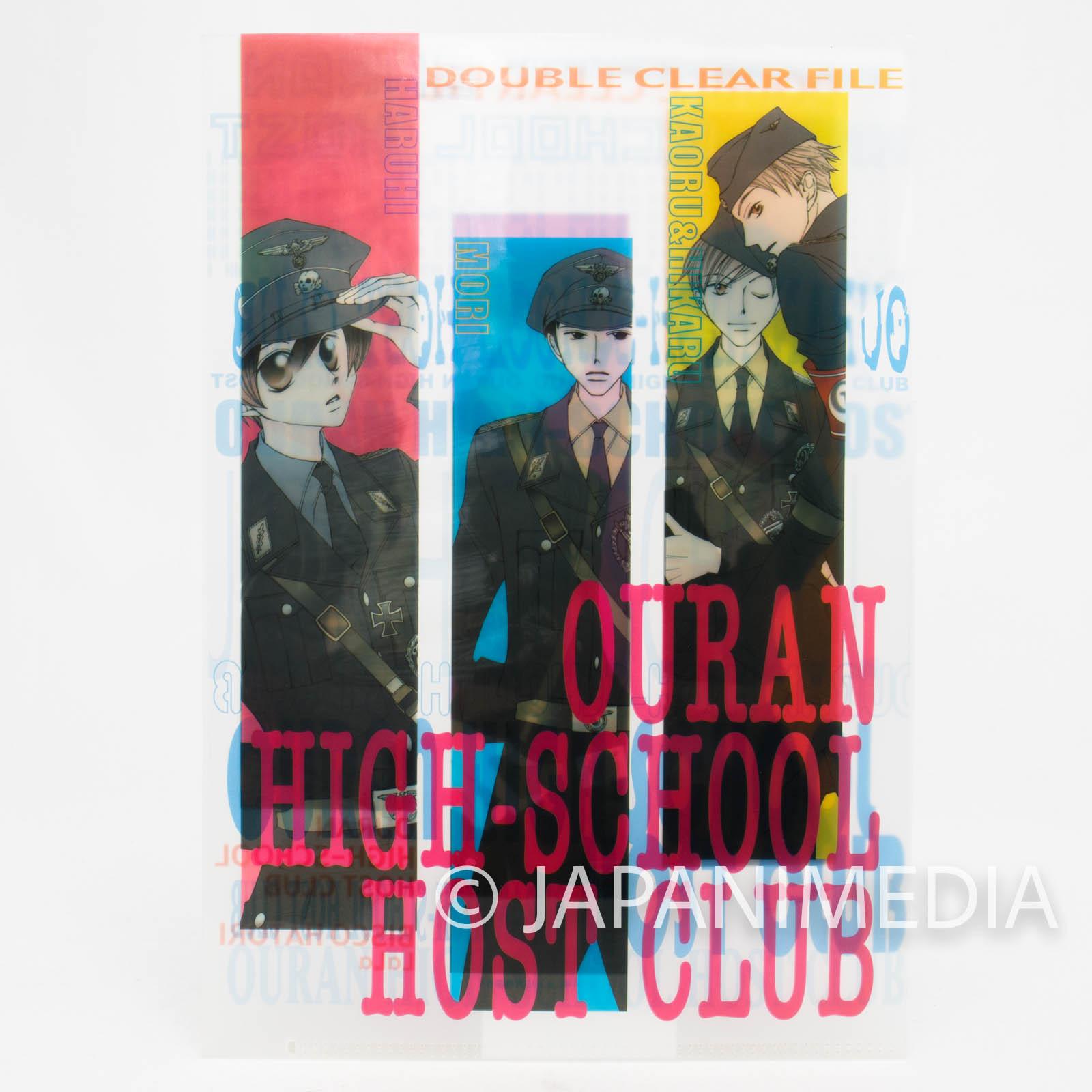 Ouran High School Host Club Clear File Folder JAPAN MANGA 2