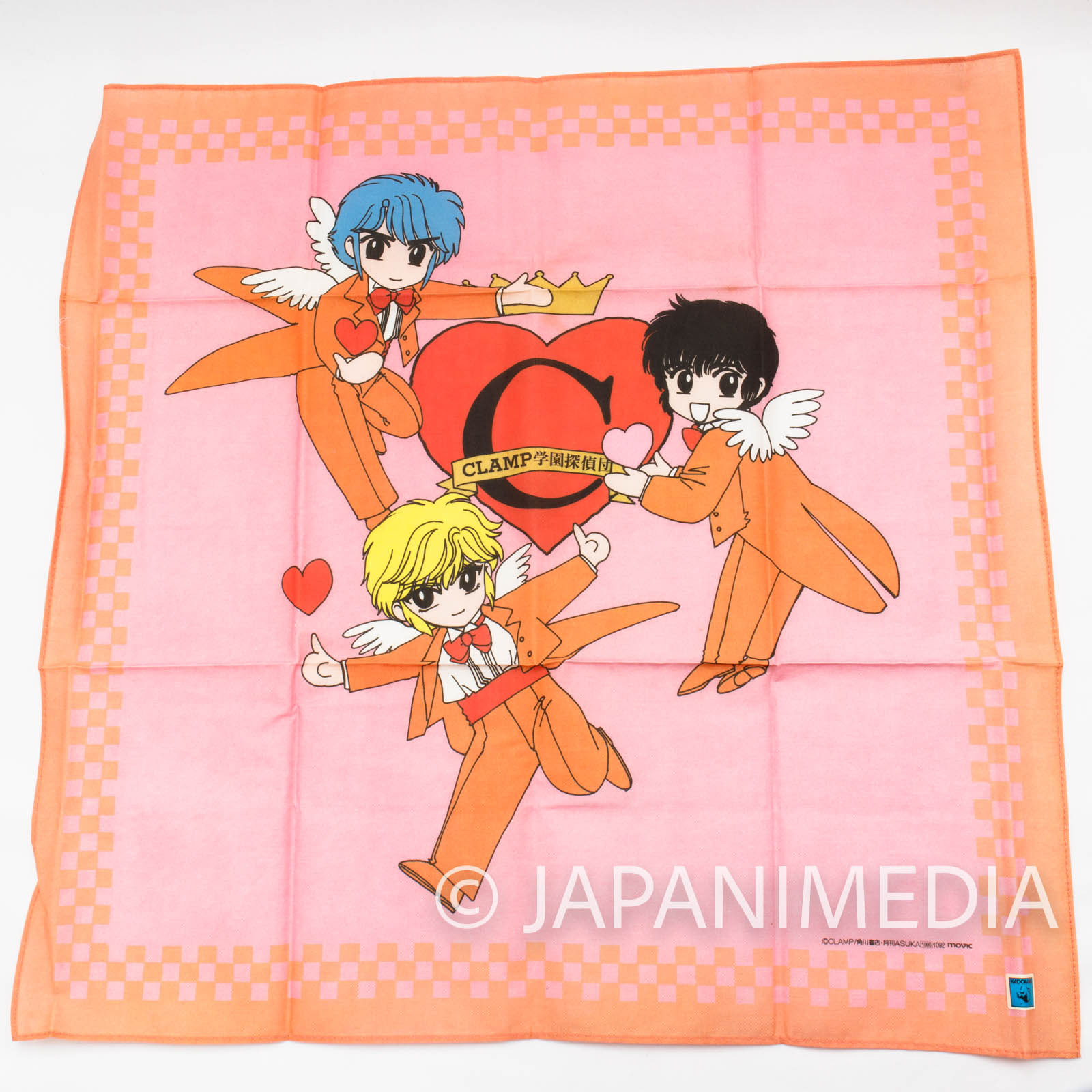 Clamp School Detectives Handkerchief [Nokoru | Suoh | Akira] JAPAN MANAG