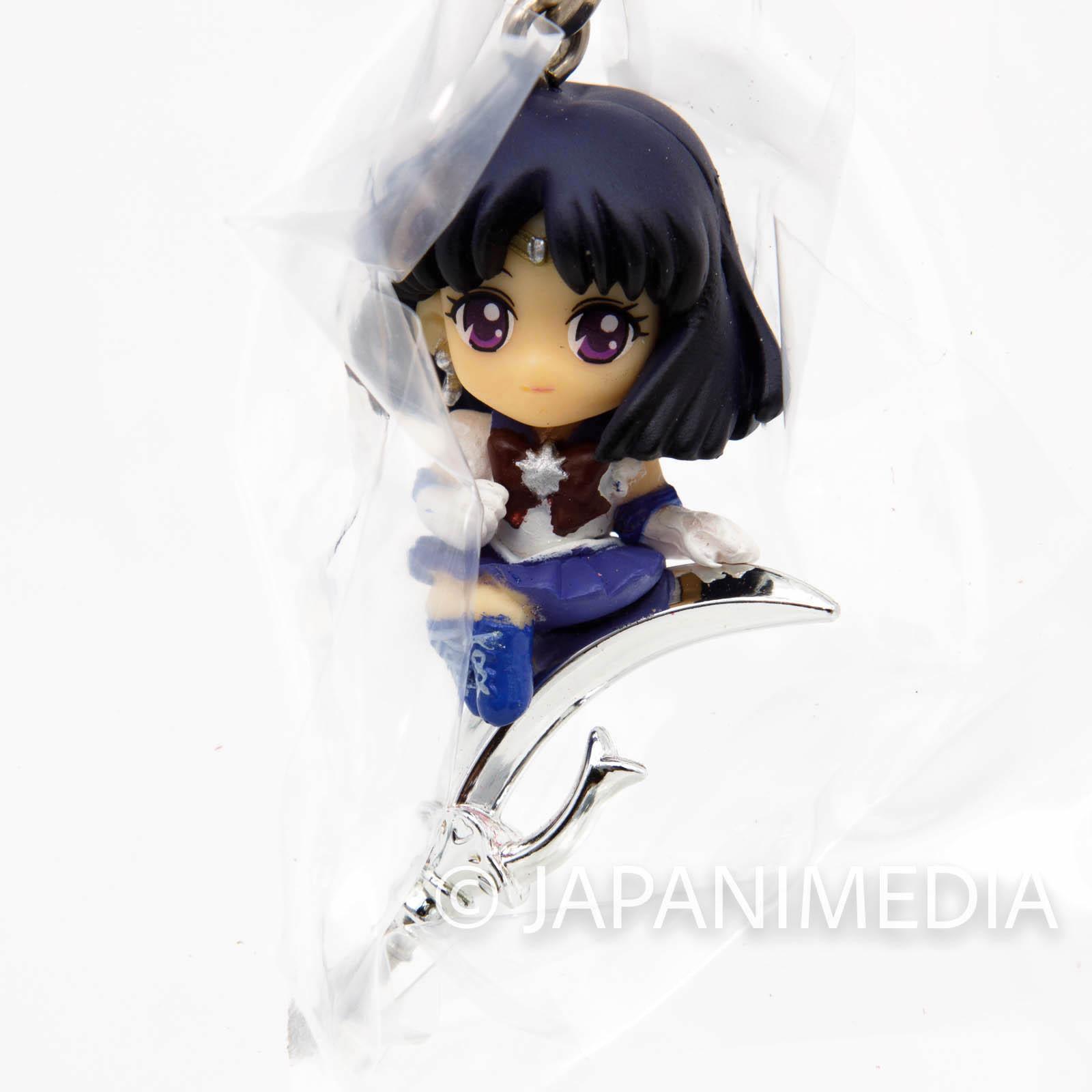 Sailor Moon Sailor Saturn Twinkle Dolly 2 Figure Strap JAPAN ANIME 2
