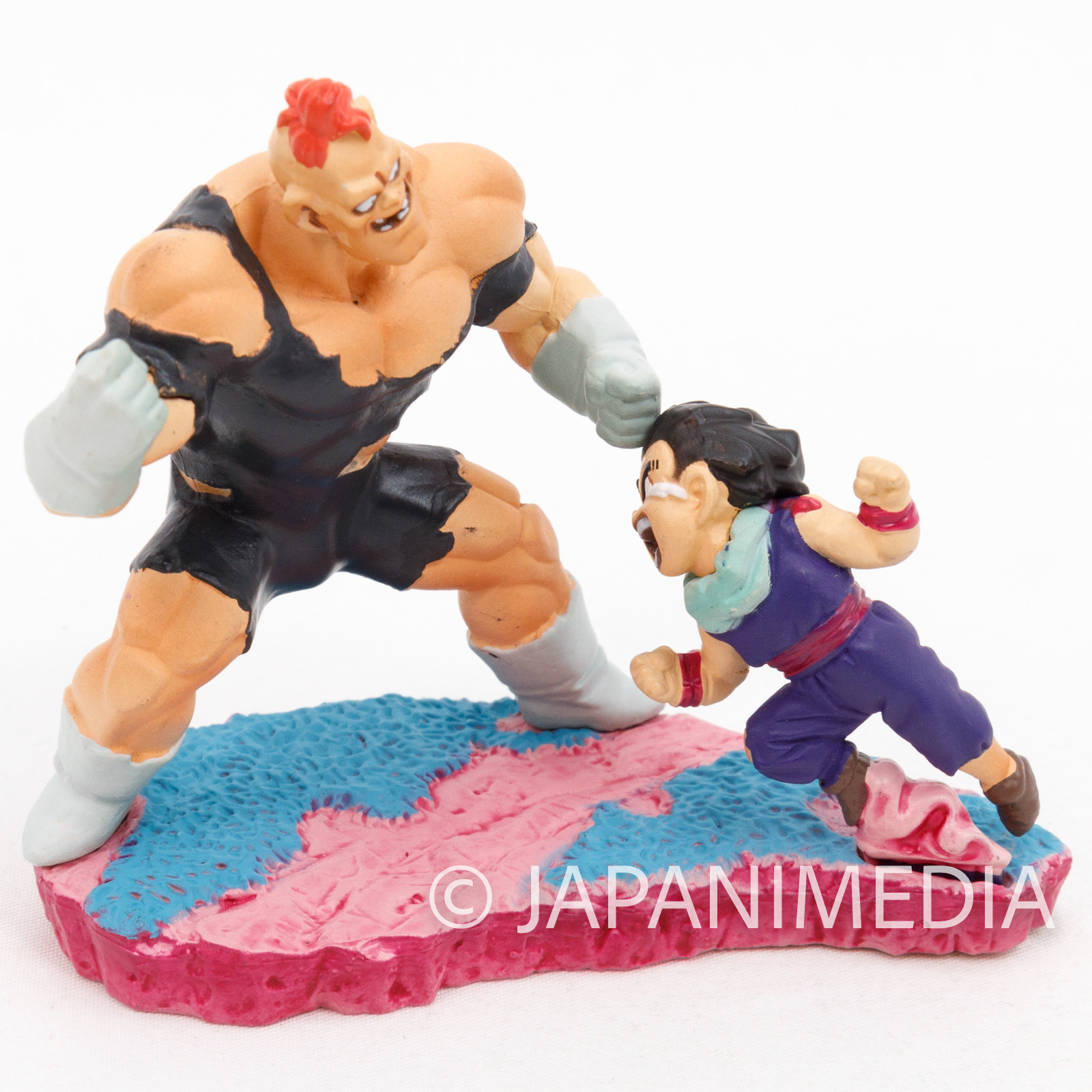 Dragon Ball Z Son Gohan vs Recoome Diorama Figure JAPAN ANIME CAPSULE