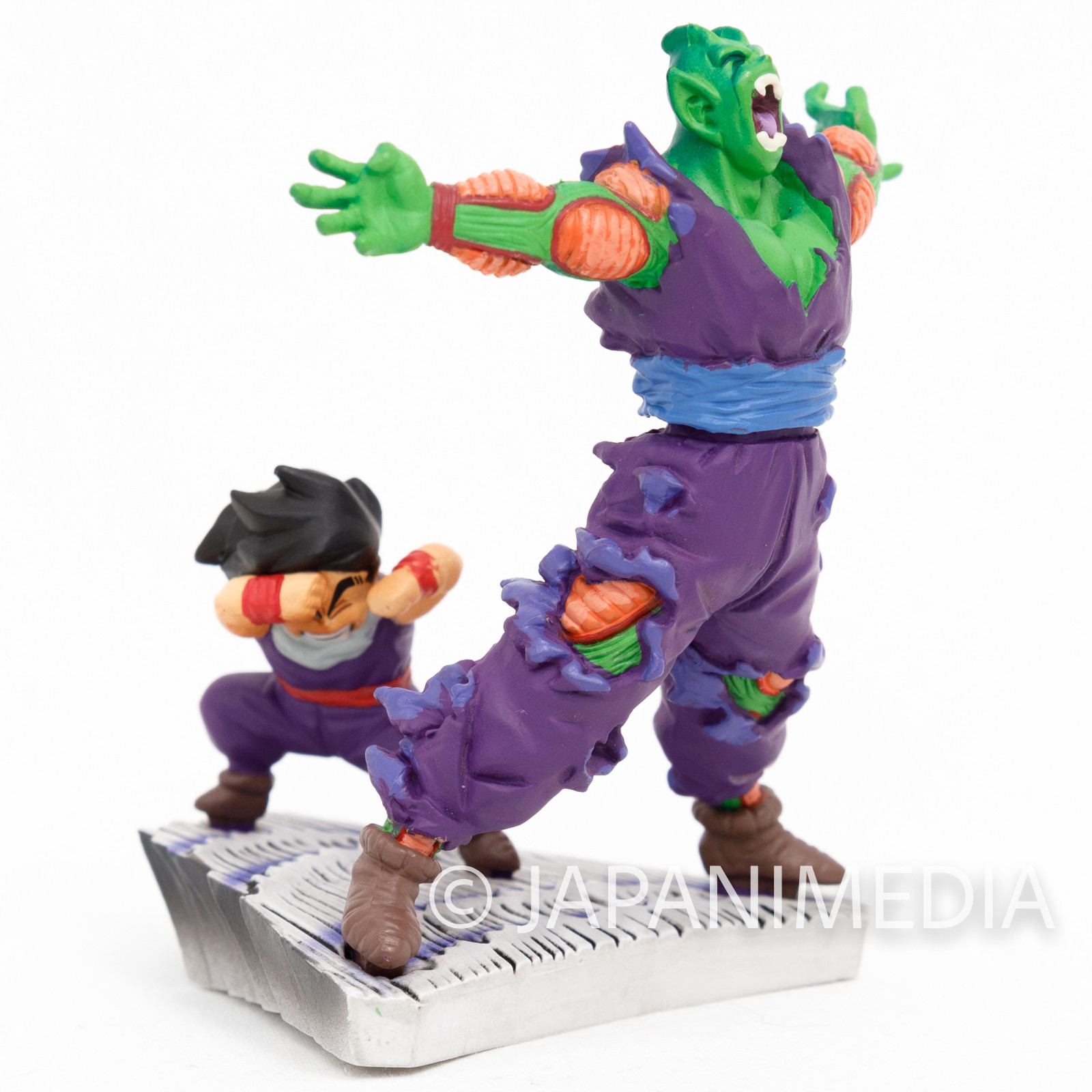Dragon Ball Z Piccolo's Sacrifice for Son Gohan Diorama Figure JAPAN CAPSULE
