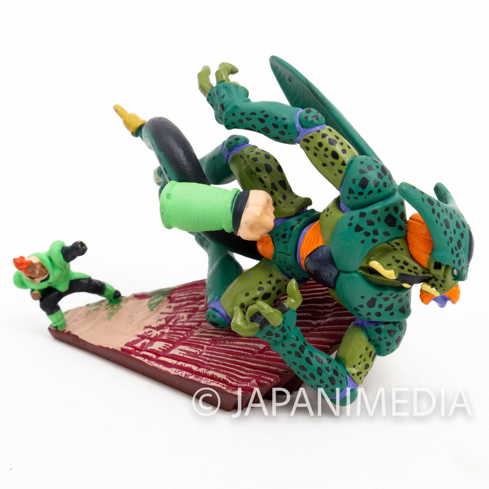 Dragon Ball Z Android 16 vs Cell Diorama Figure JAPAN CAPSULE