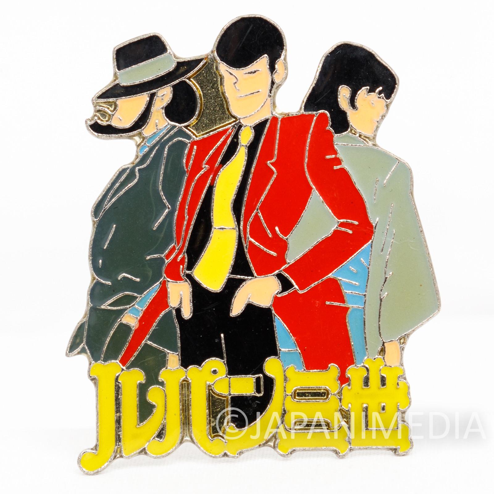 Lupin the Third (3rd) LUPIN JIGEN GOEMON Metal Pins JAPAN ANIME