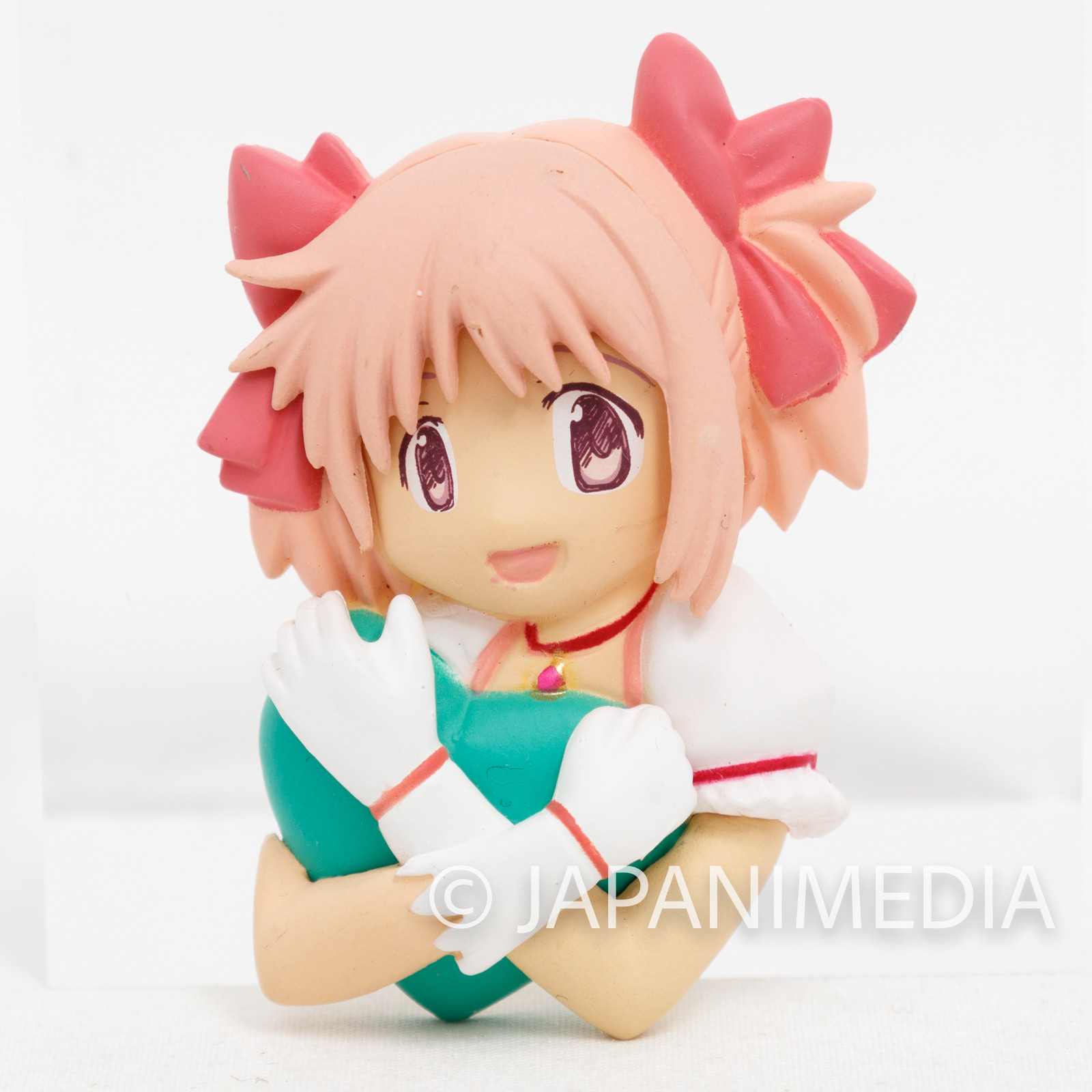 Puella Magi Madoka Kaname Madoka Relief Mascot Magnet Takara Tomy JAPAN ANIME