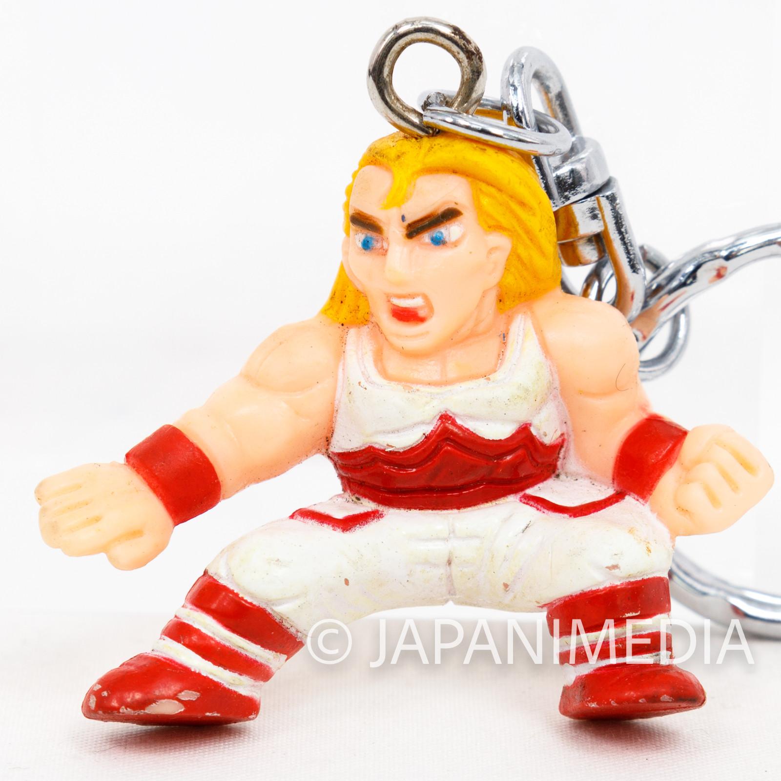 KOF King of Fighters Fatal Fury Andy Bogard Figure Keychain JAPAN SNK