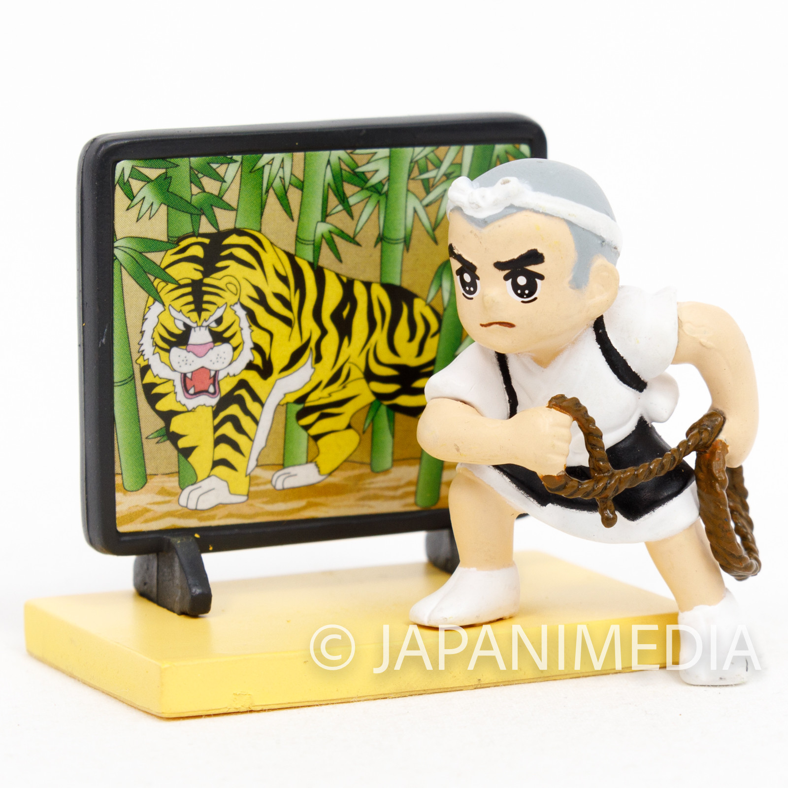 Ikkyu-san Miniature Diorama Figure Catching Tiger in Picture ver. JAPAN ANIME