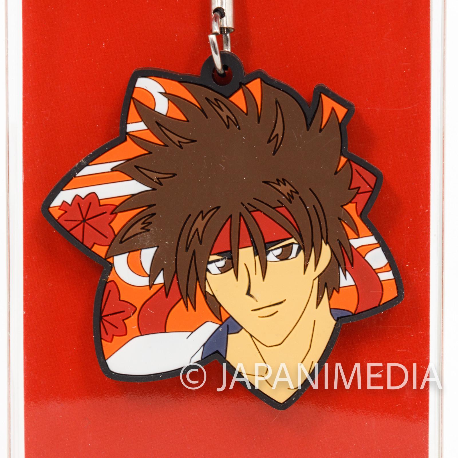 Rurouni Kenshin Sanosuke Sagara Rubber Mascot Strap Aniplex JAPAN ANIME