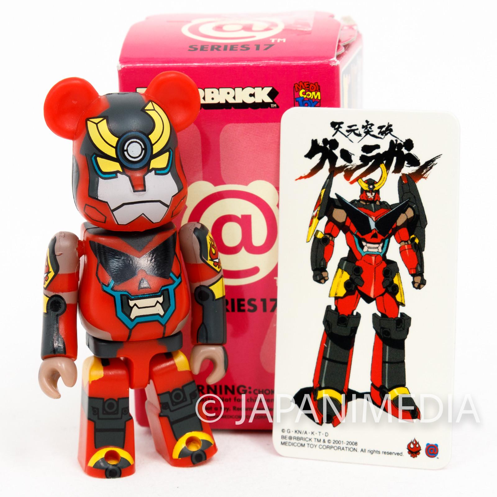 Gurren Lagann BE@RBRICK Bearbrick Figure Medicom Toy JAPAN ANIME MANGA