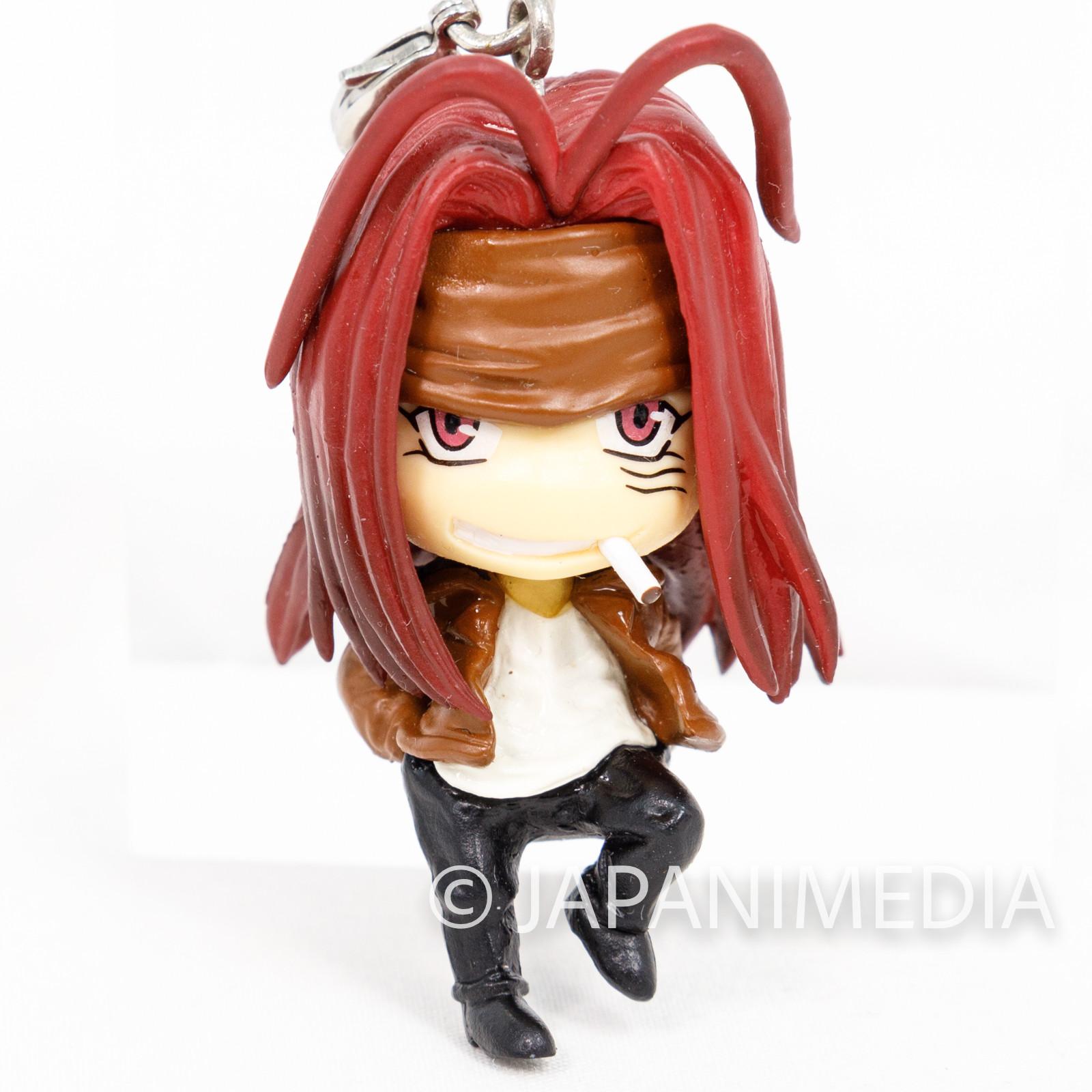 SAIYUKI Sha Gojyo KaraCole Mascot Figure Movic Kazuya Minekura JAPAN