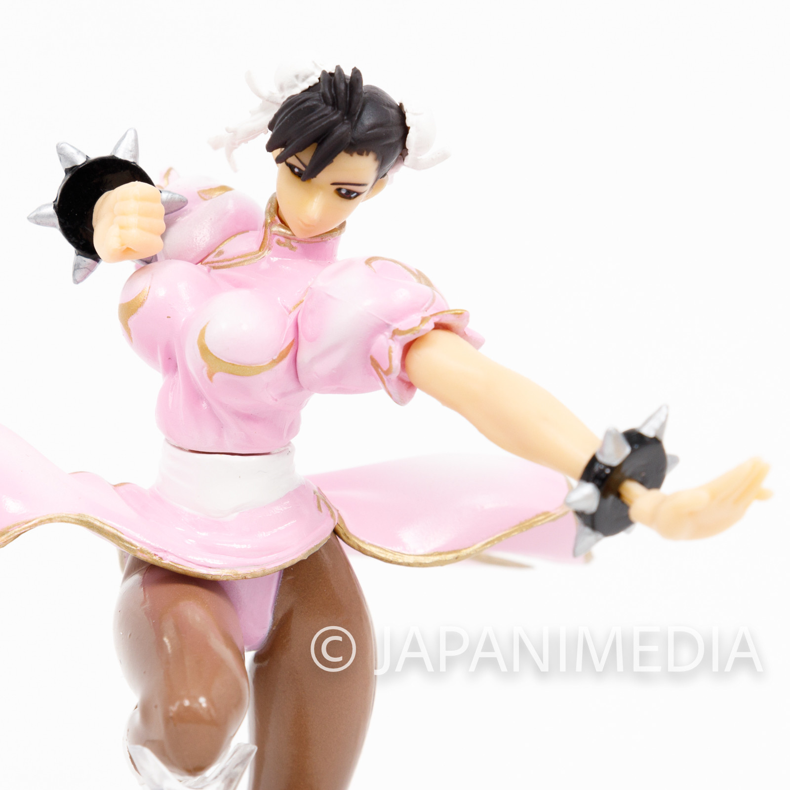 Street Fighter 2 Chun-Li Pink ver Capcom Figure Collection JAPAN GAME