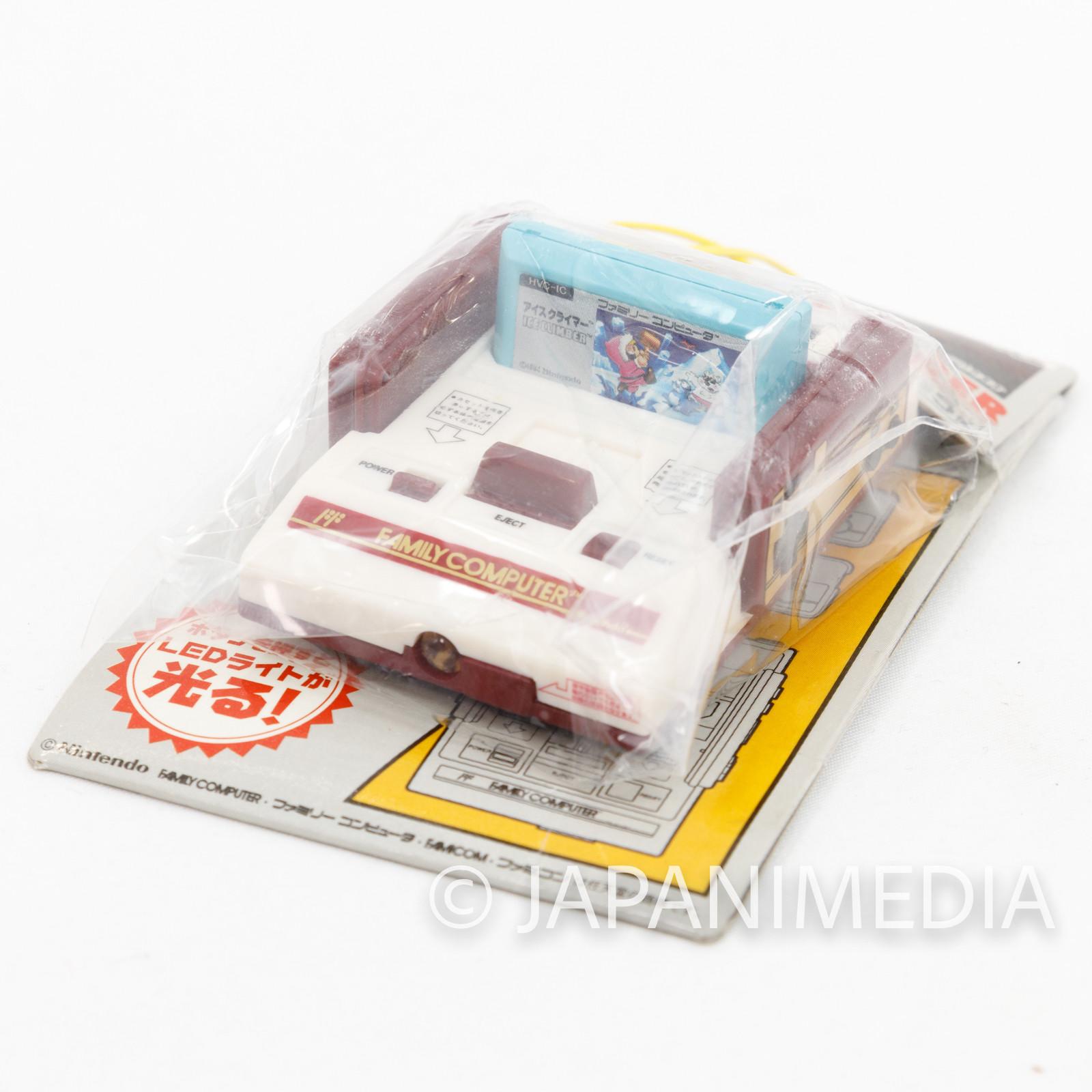 Nintendo Family Computer Ice Climber Cassette LED Light Figure Key Chain Famicom NES