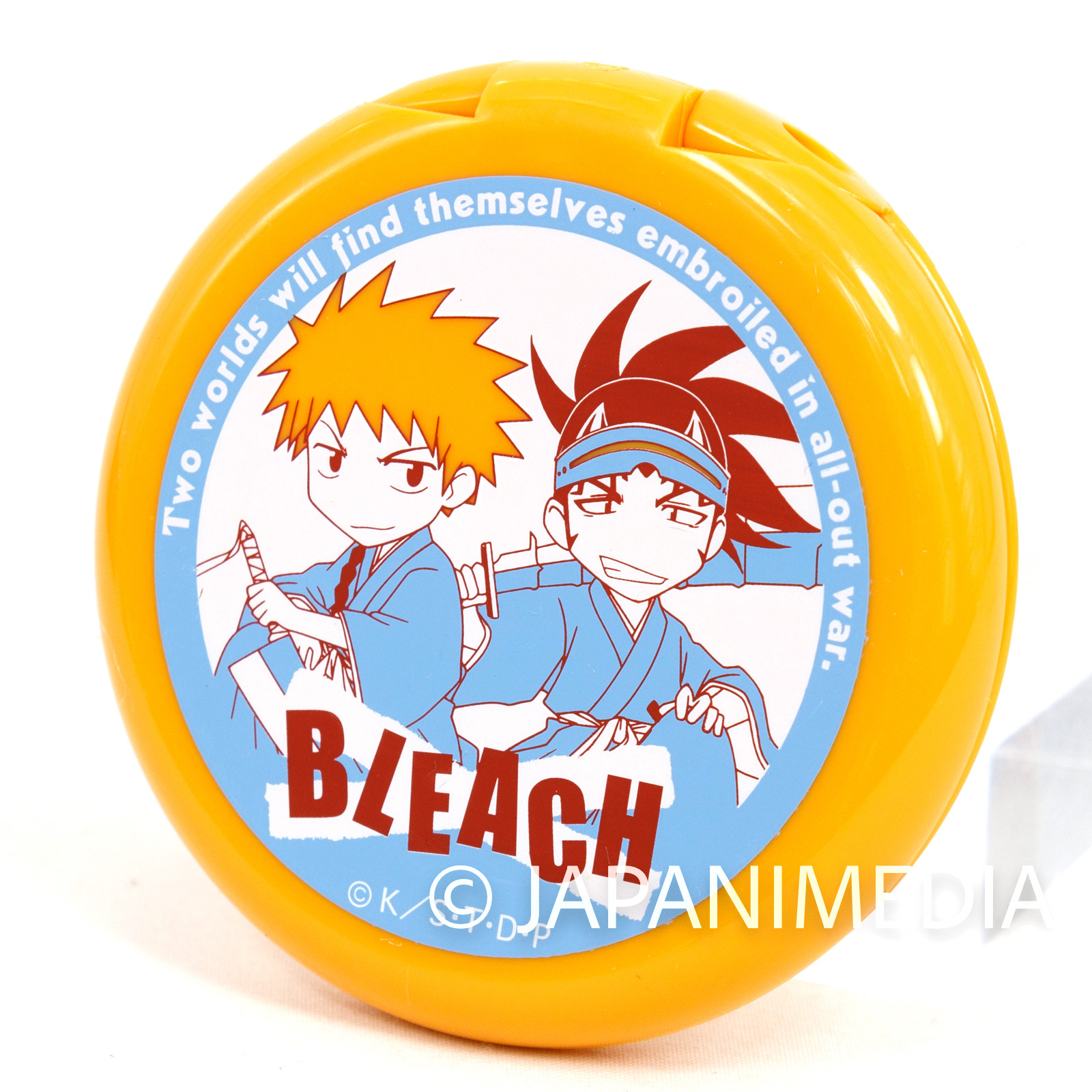 Bleach Ichigo Kurosaki & Renji Abarai Folding Mirror w/Blush SHONEN JUMP