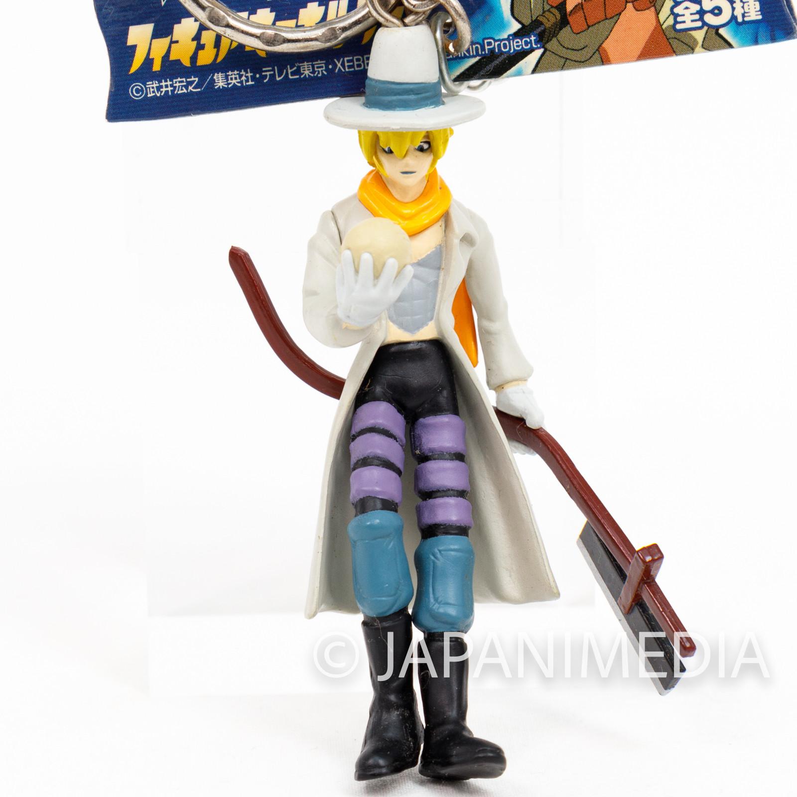 Shaman King Johann Faust VIII Figure Key Chain JAPAN ANIME MANGA