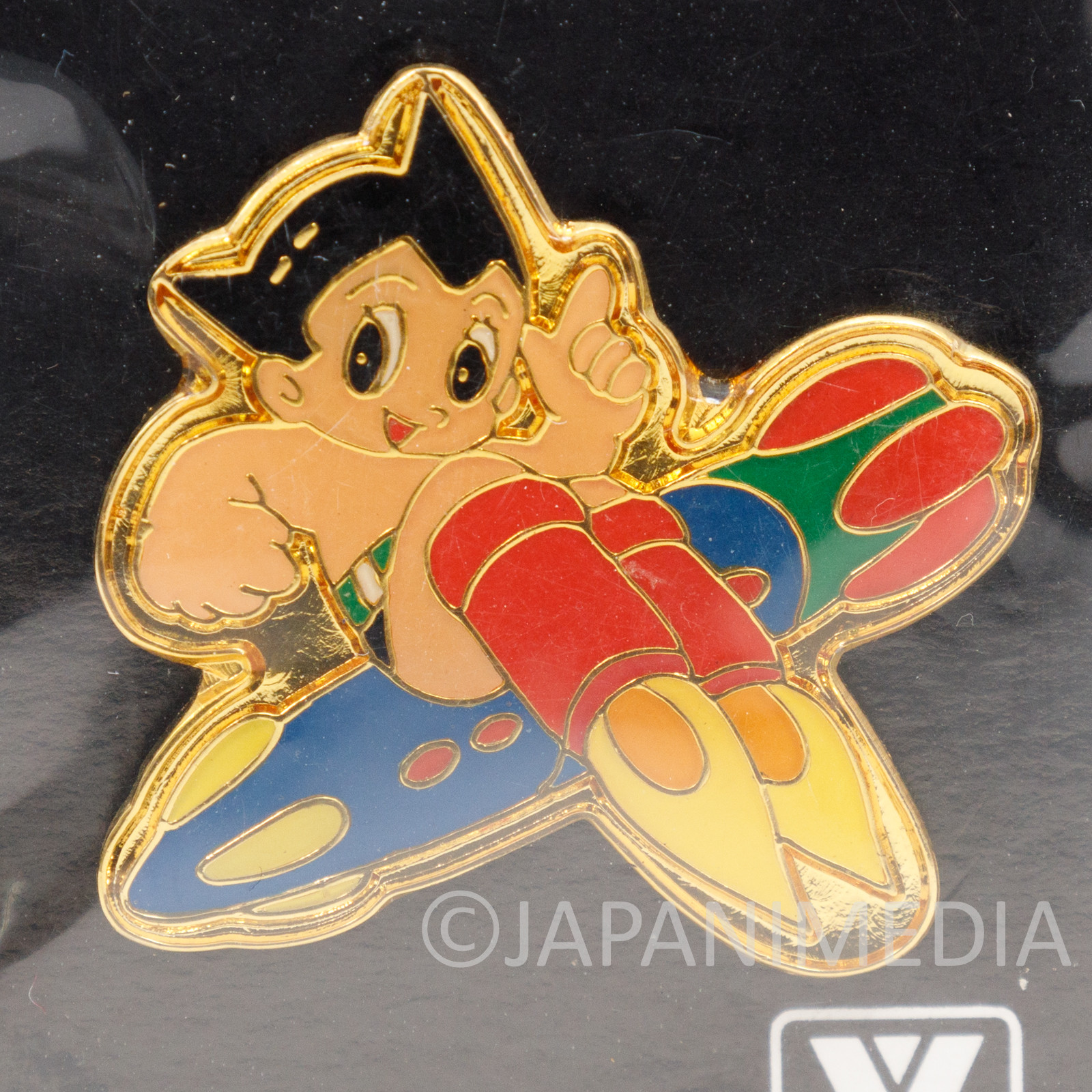 Astro Boy Atom Rocket Metal Pins Osamu Tezuka Tokyo JAPAN ANIME