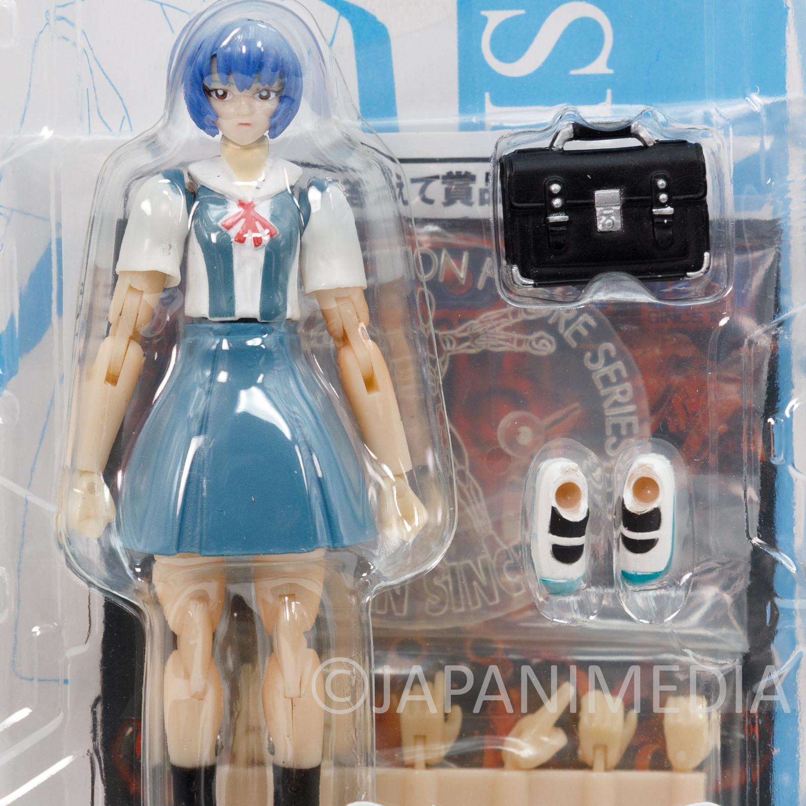 Evangelion Rei Ayanami School Uniform Ver. Microman Figure MA-25 TAKARA