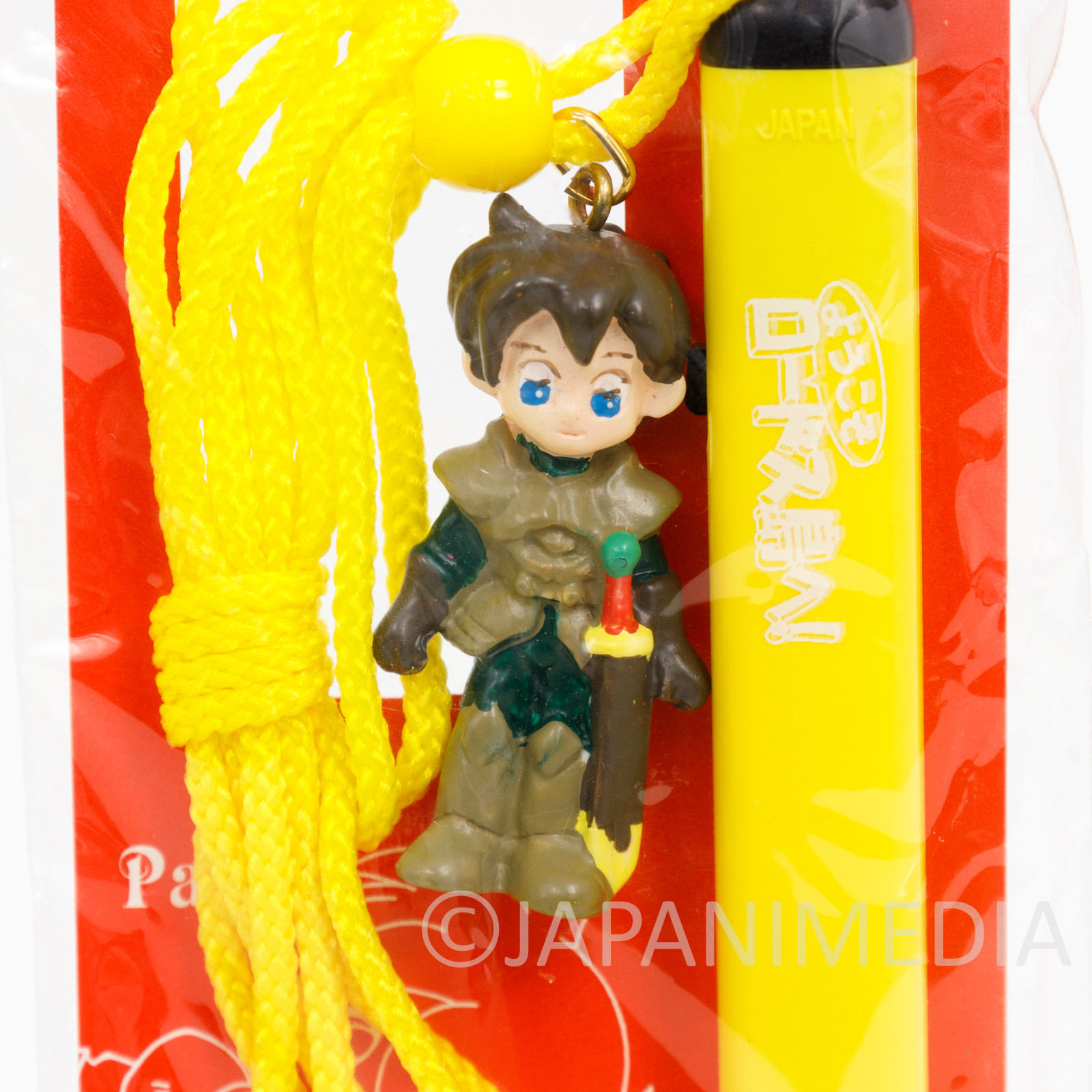 Retro! Welcome to Lodoss Parn Figure Ballpoin Pen JAPAN Record of Lodoss War