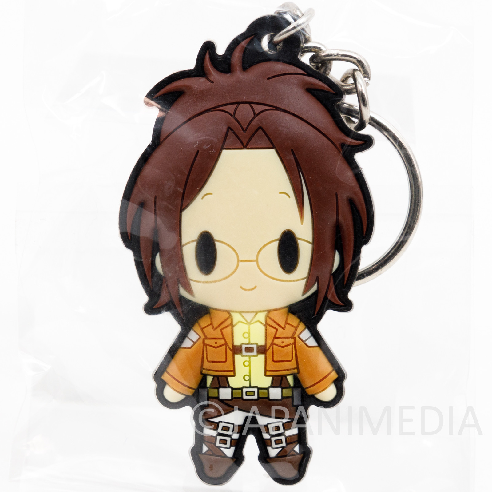 Attack on Titan Zoe Hange Rubber Mascot Keychain JAPAN ANIME