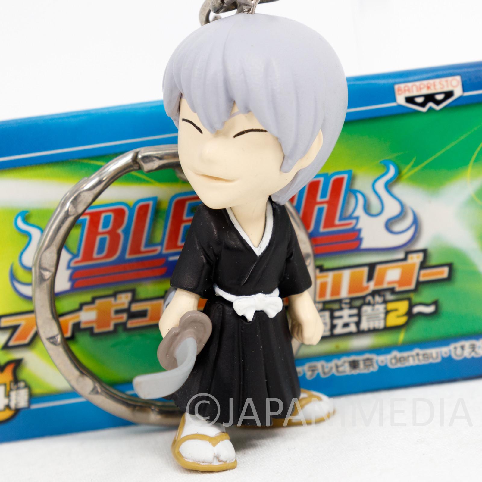 Bleach Gin Ichimaru Figure Keychain Banpresto JAPAN ANIME SHONEN JUMP