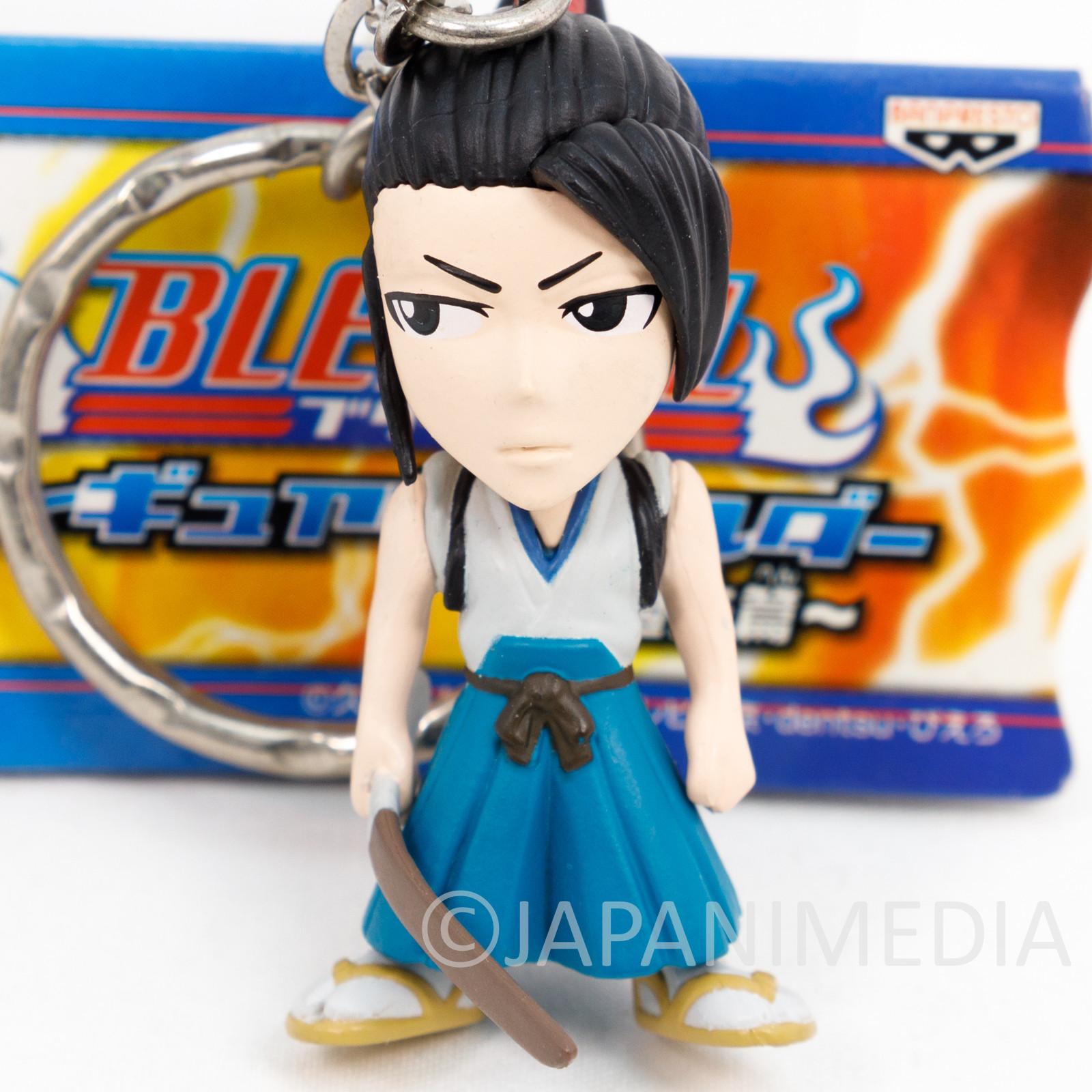 Bleach Byakuya Kuchiki Figure Keychain Banpresto JAPAN ANIME SHONEN JUMP
