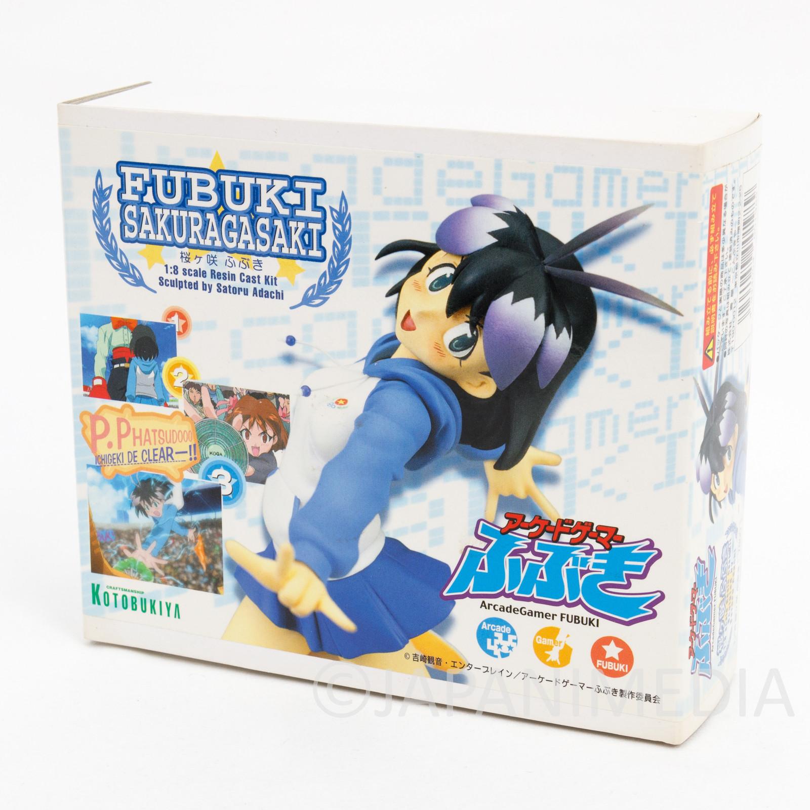Arcade Gamer Fubuki Sakuragasaki 1/8 Scale Resin Cast Model Kit JAPAN MANGA