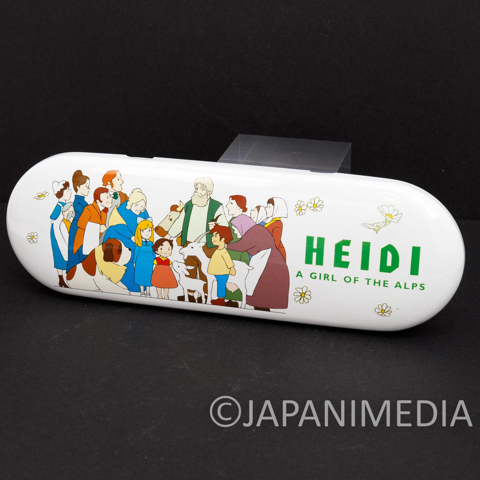 Heidi Girl of the Alps Pen Case JAPAN ANIME