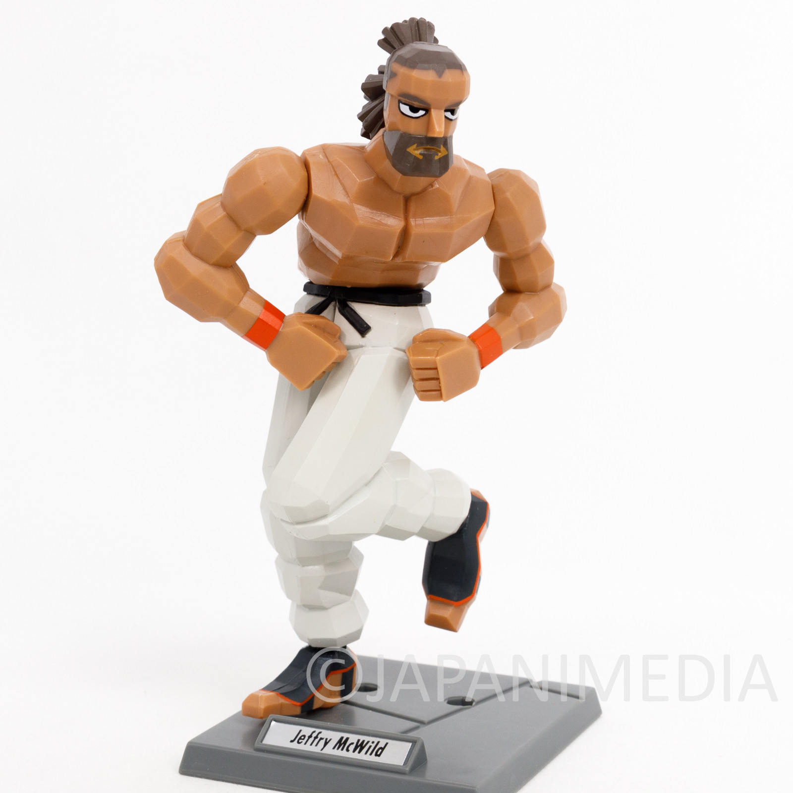 Retro! Virtua Fighter Jeffry McWild Figure SEGA 1995 JAPAN