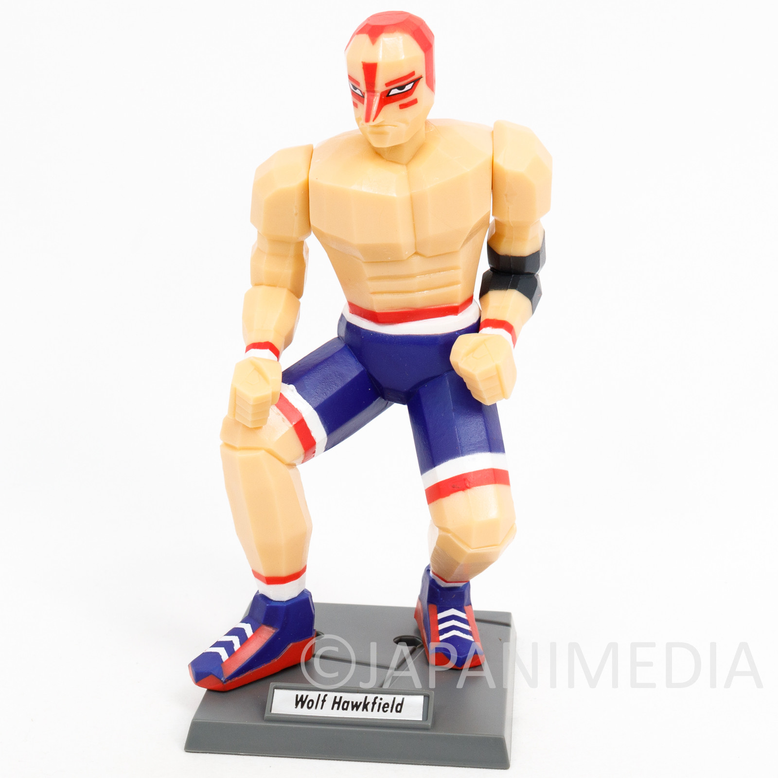 Retro! Virtua Fighter Wolf Hawkfield Figure SEGA 1995 JAPAN