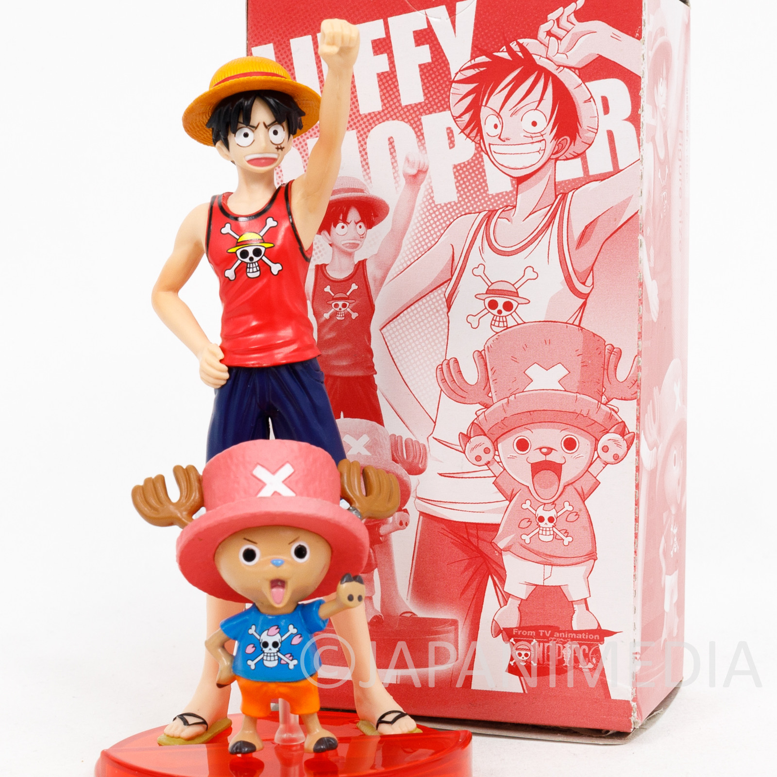 One Piece Styling Figure Luffy & Chopper Jump Festa 2008 Limited ver.